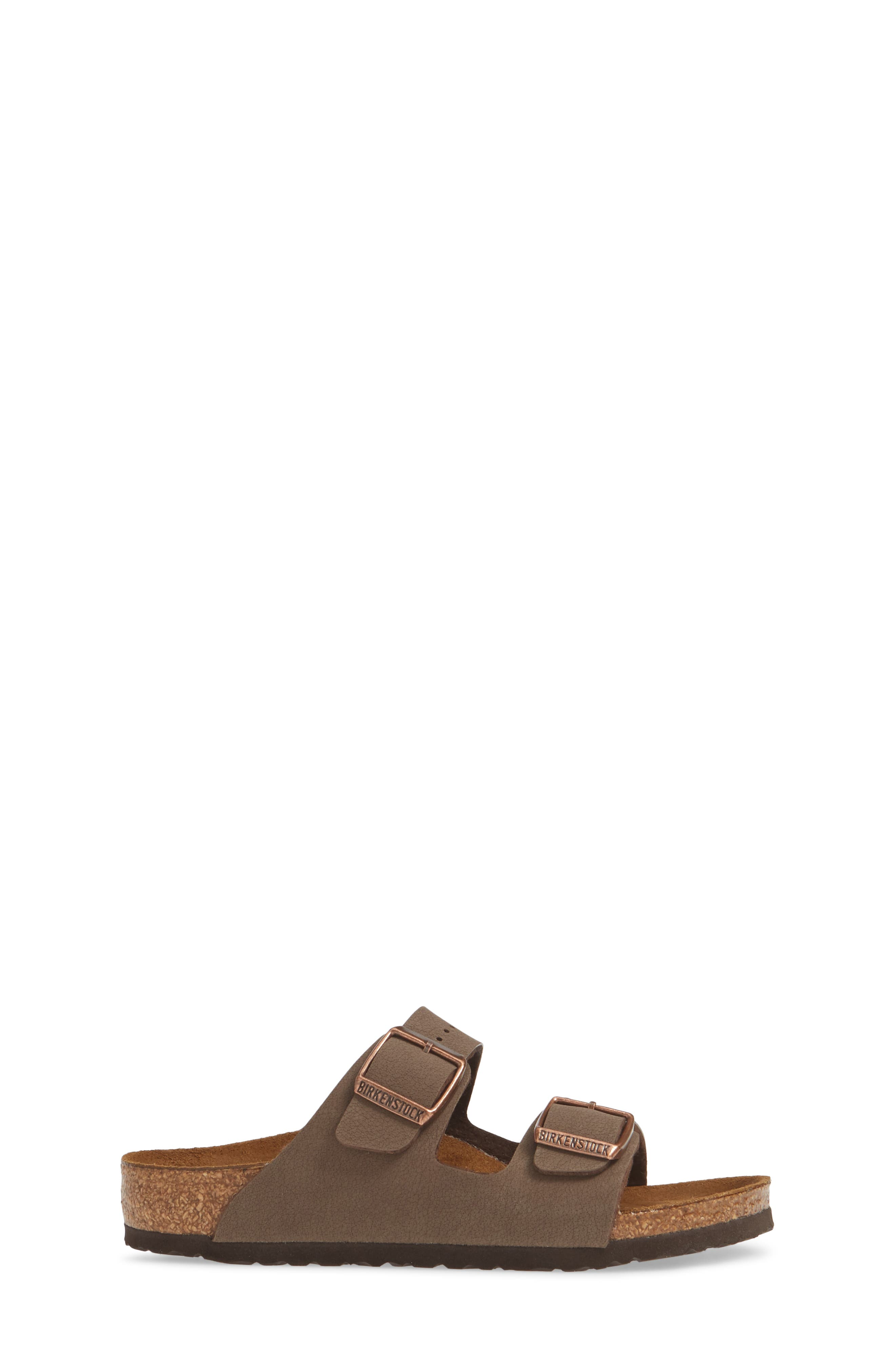 BIRKENSTOCK, 'Arizona' Suede Sandal, Alternate thumbnail 4, color, MOCHA