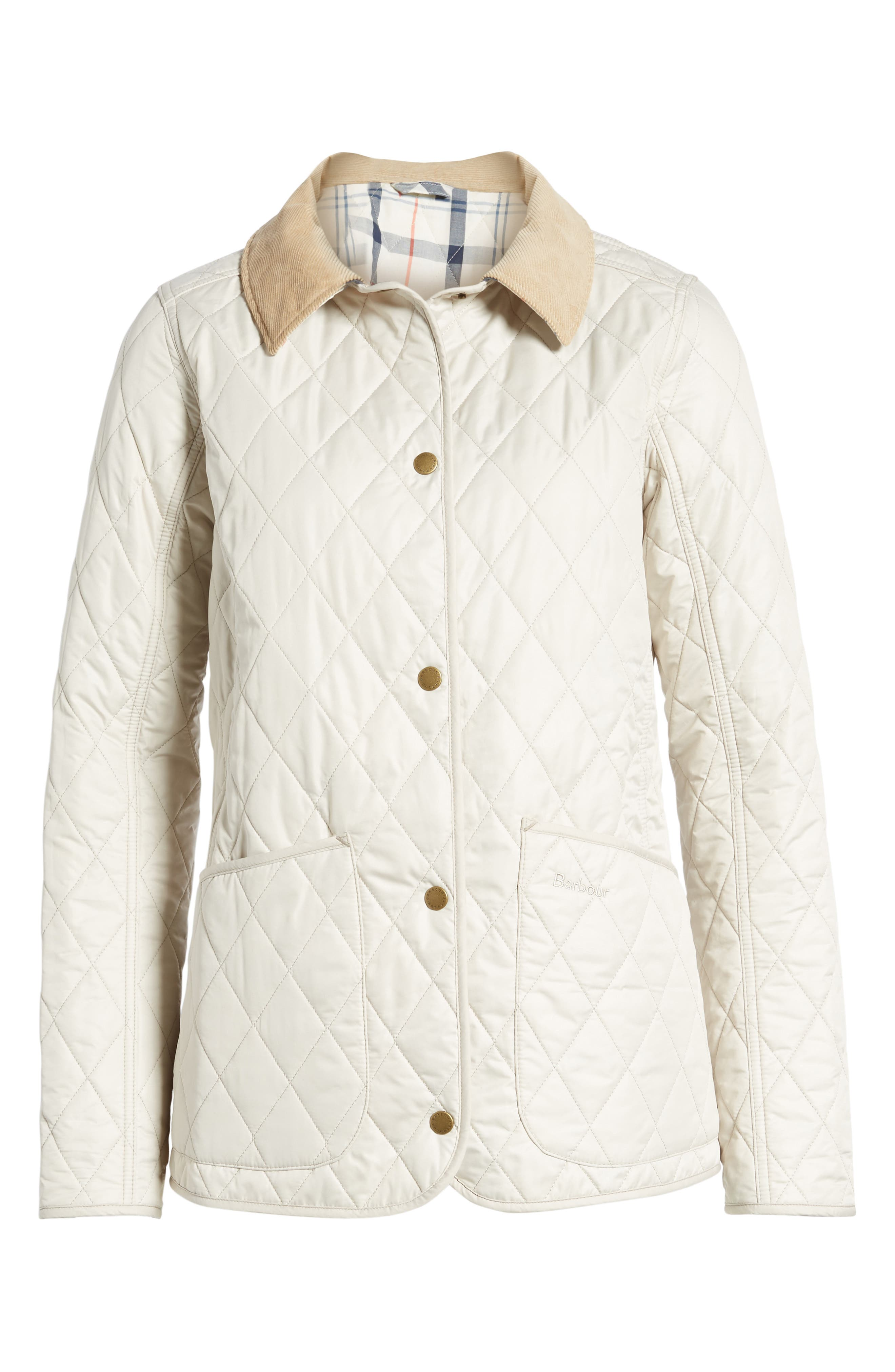 BARBOUR, Spring Annandale Quilted Jacket, Alternate thumbnail 6, color, 270