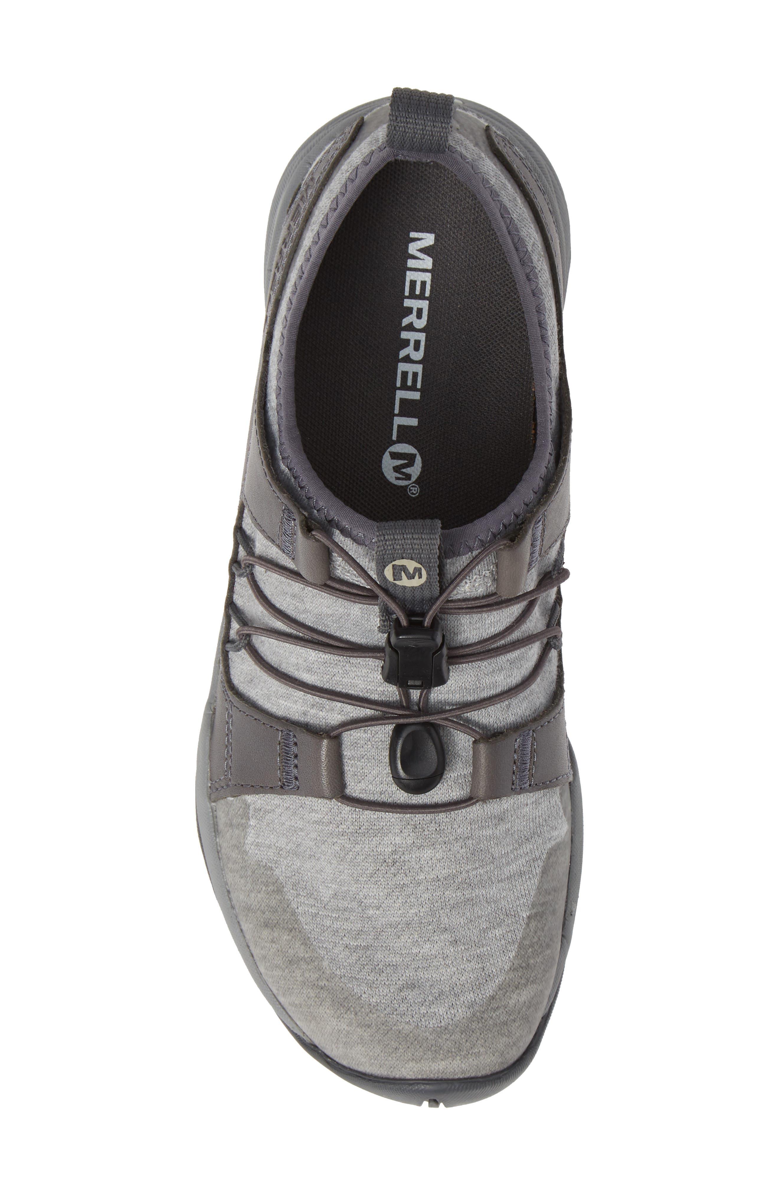 MERRELL, Siren Guided Knit Q2 Sneaker, Alternate thumbnail 5, color, 050