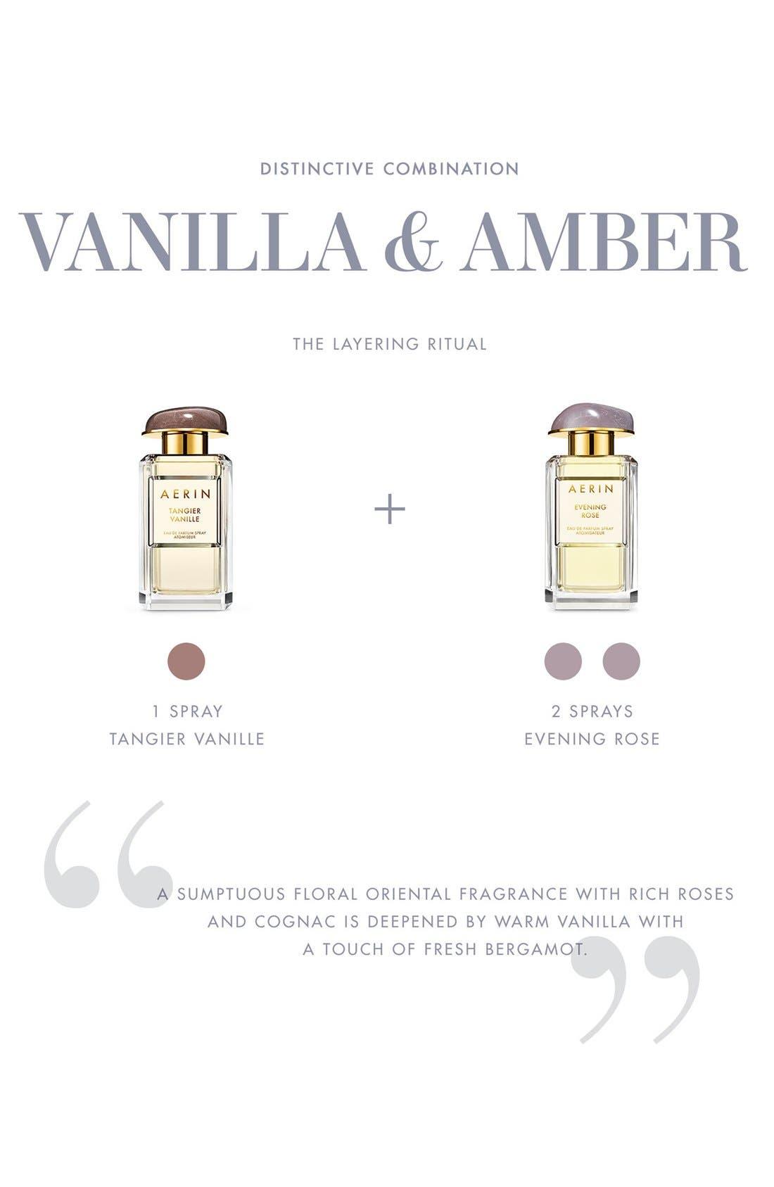 ESTÉE LAUDER, AERIN Beauty Tangier Vanille Eau de Parfum Spray, Alternate thumbnail 5, color, NO COLOR