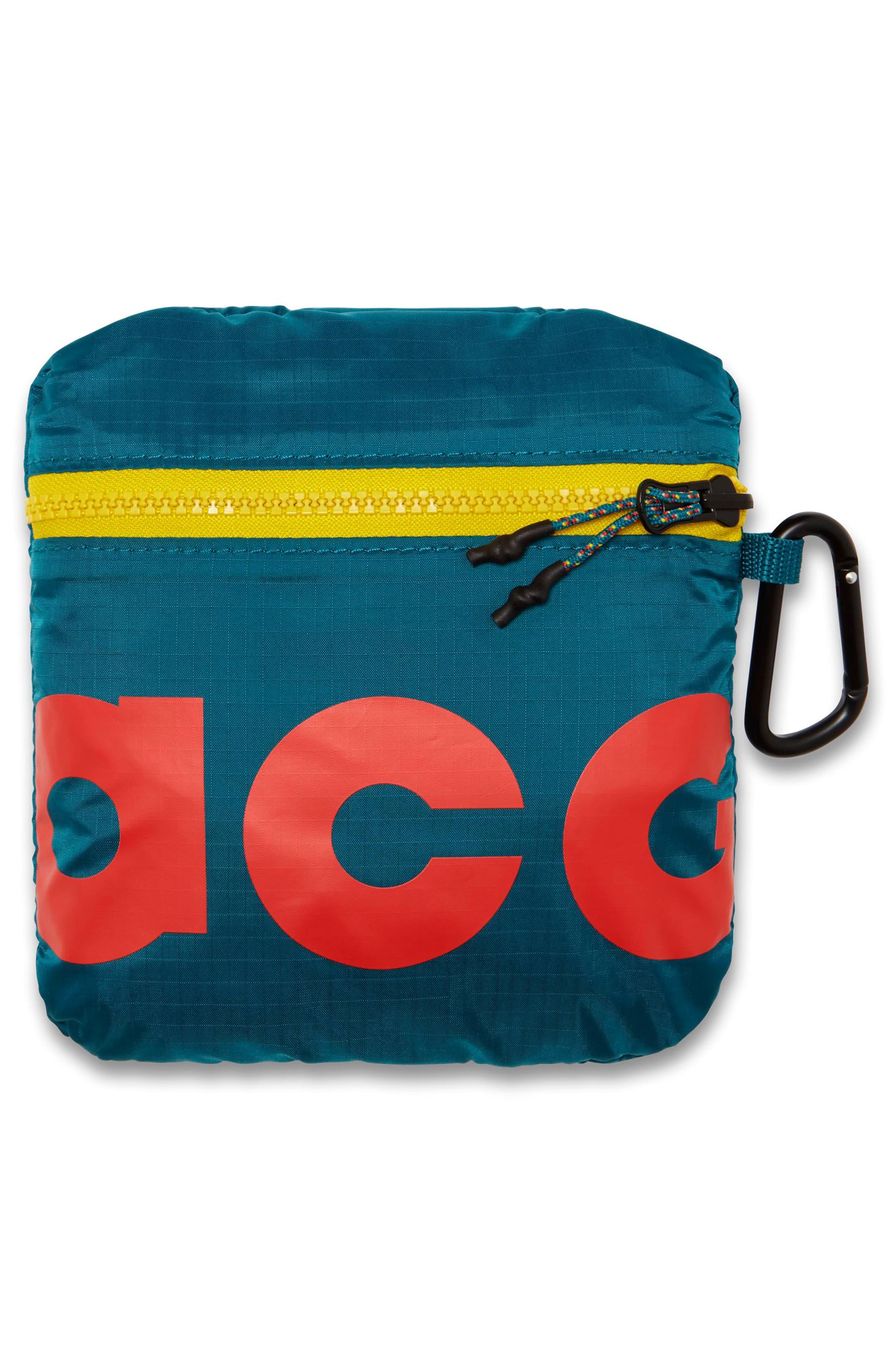 NIKE, ACG Packable Backpack, Alternate thumbnail 6, color, GEODE TEAL/ GEODE TEAL