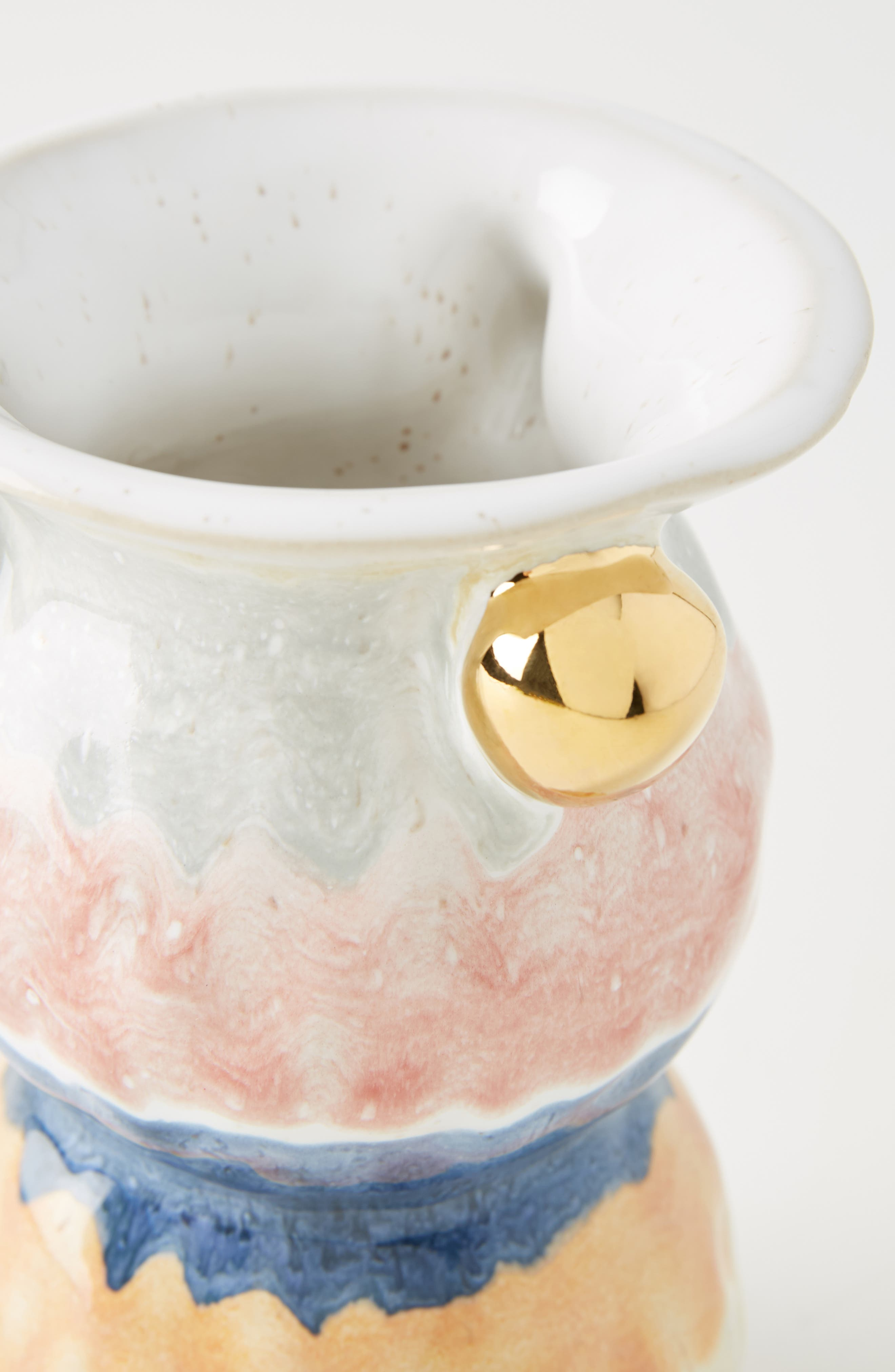 ANTHROPOLOGIE, Object Enthusiast Vase, Alternate thumbnail 2, color, MULTI-SMALL