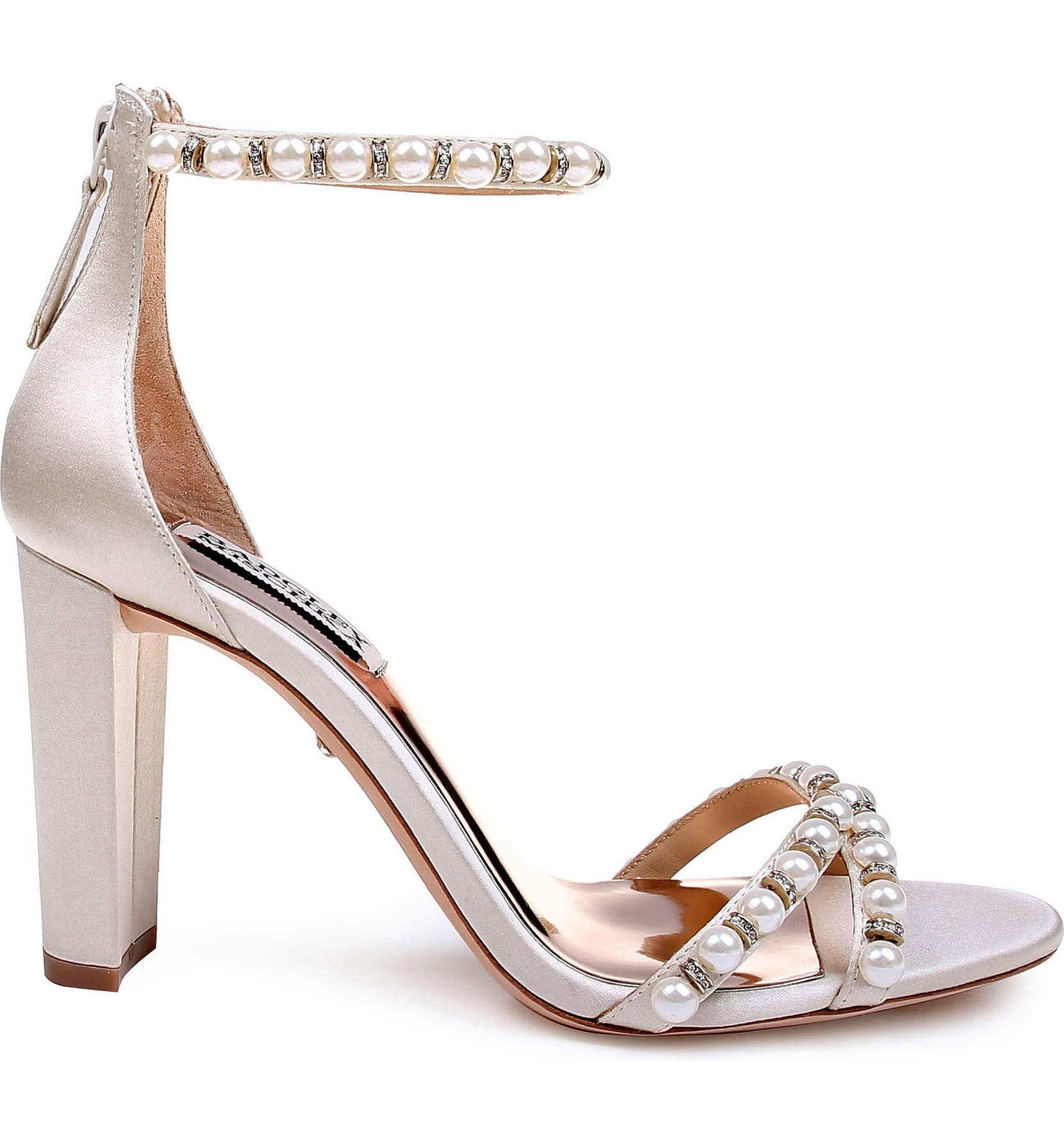 871d9808a7e Badgley Mischka Hooper Ankle Strap Sandal (Women)
