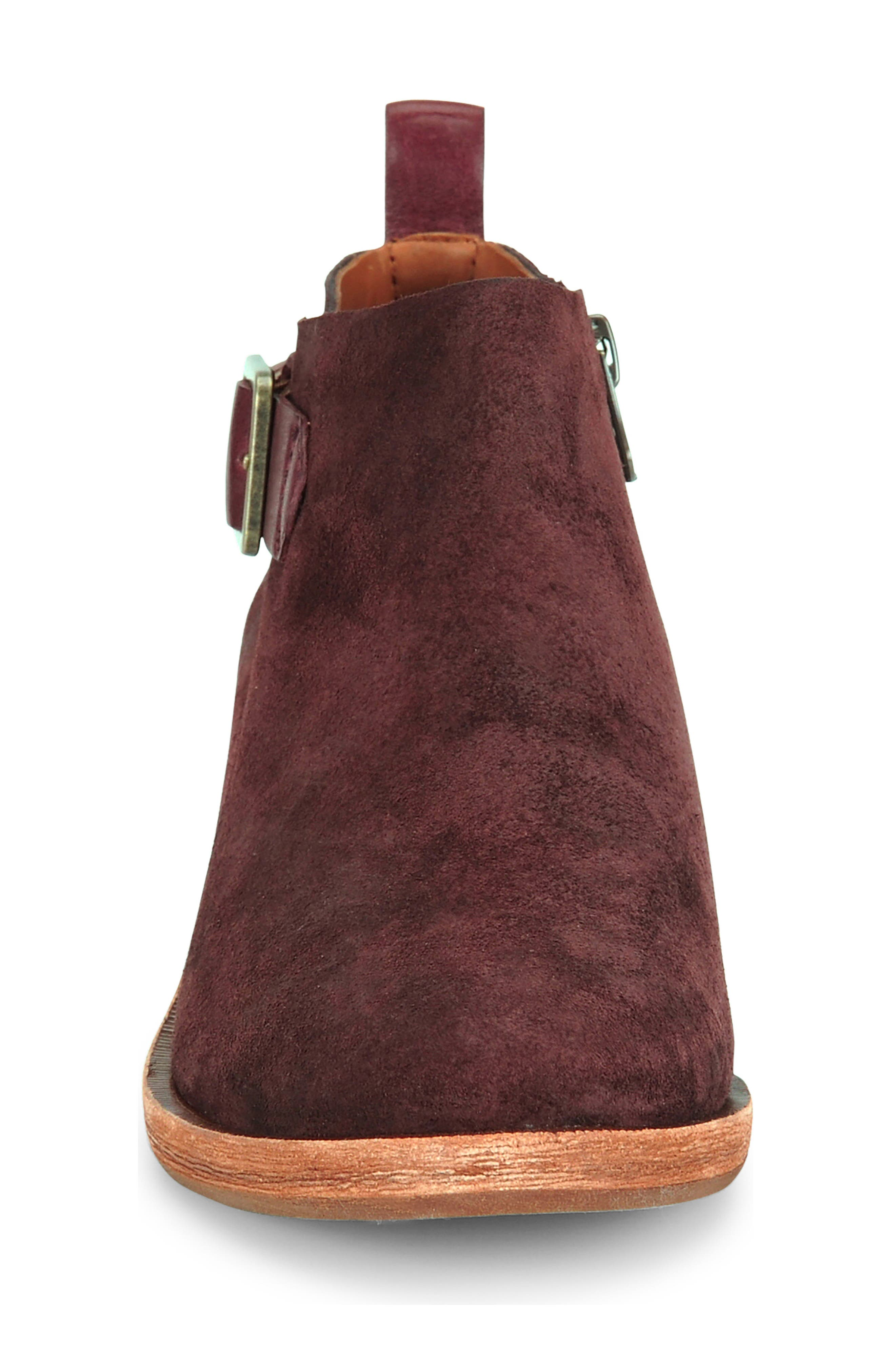 KORK-EASE<SUP>®</SUP>, Mesa Boot, Alternate thumbnail 4, color, BURGUNDY SUEDE