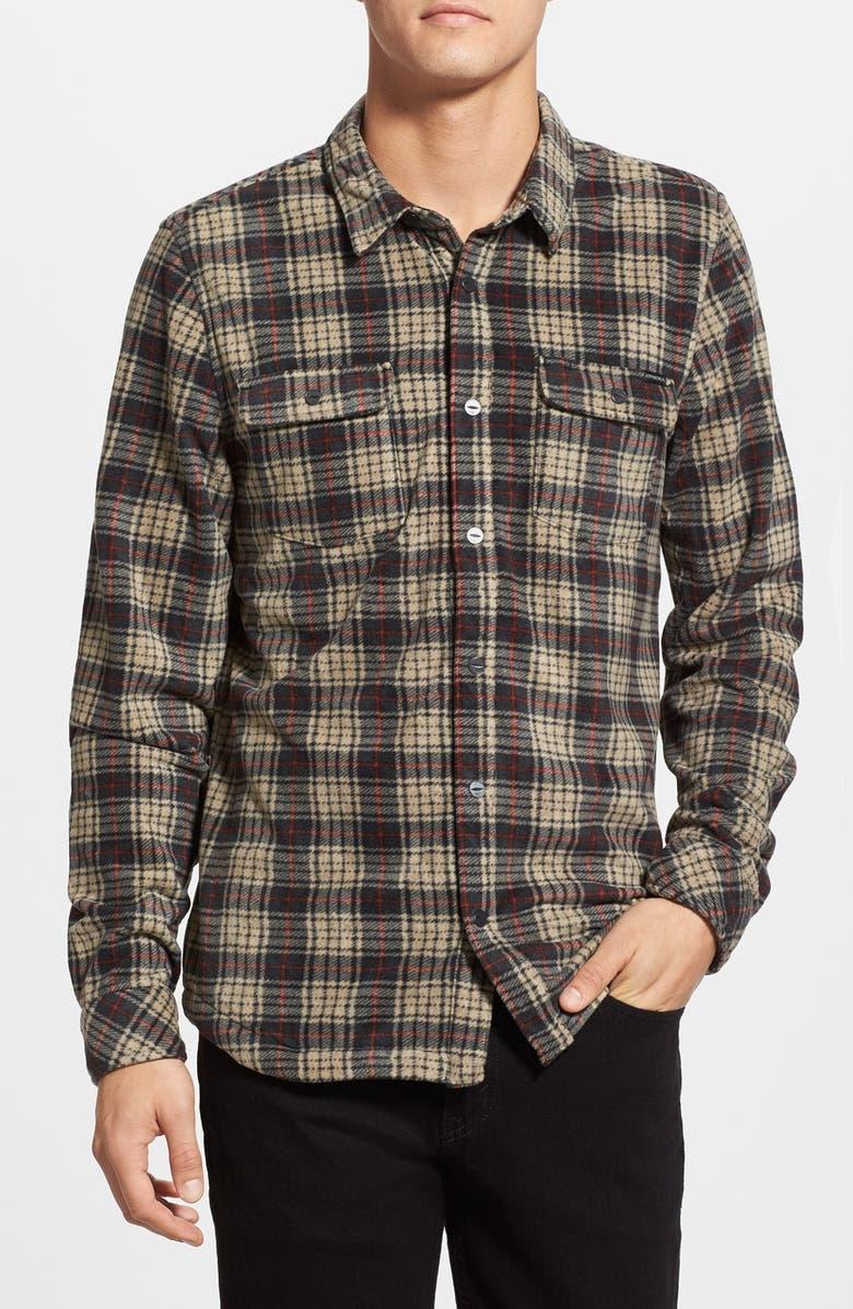 de35e303 O'Neill 'Glacier' Plaid Flannel Shirt | Nordstrom