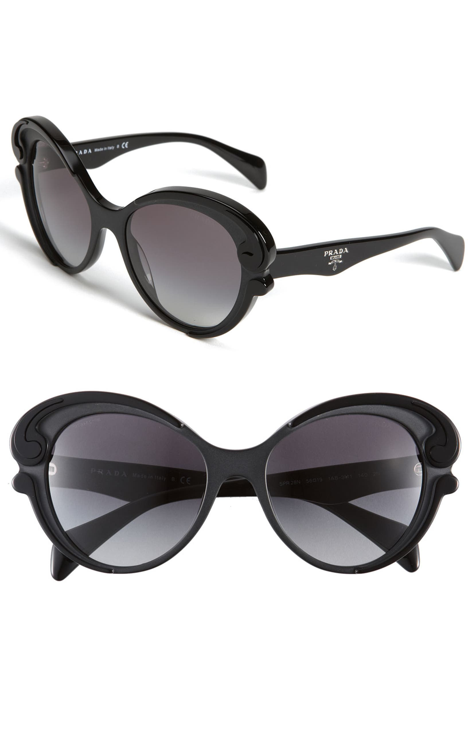 2c7f50a56ea Prada  Baroque  Cat s Eye Sunglasses