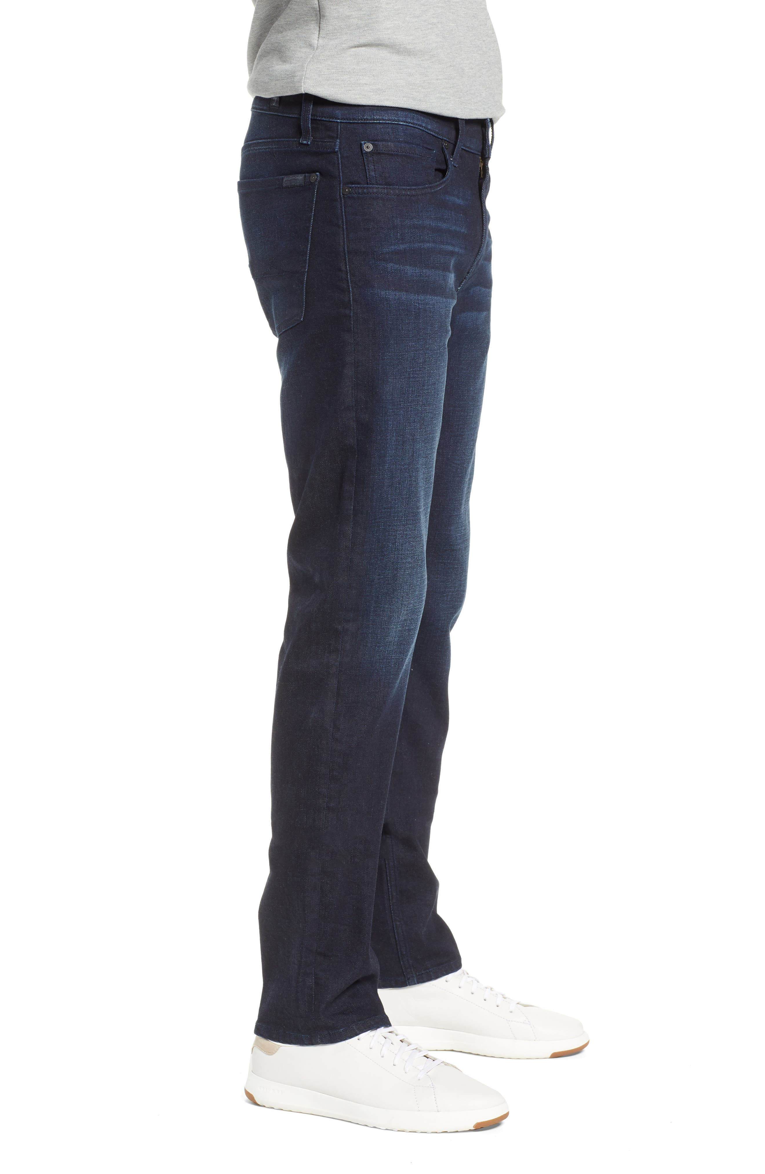 7 FOR ALL MANKIND<SUP>®</SUP>, Standard Straight Leg Jeans, Alternate thumbnail 4, color, RICHFIELD