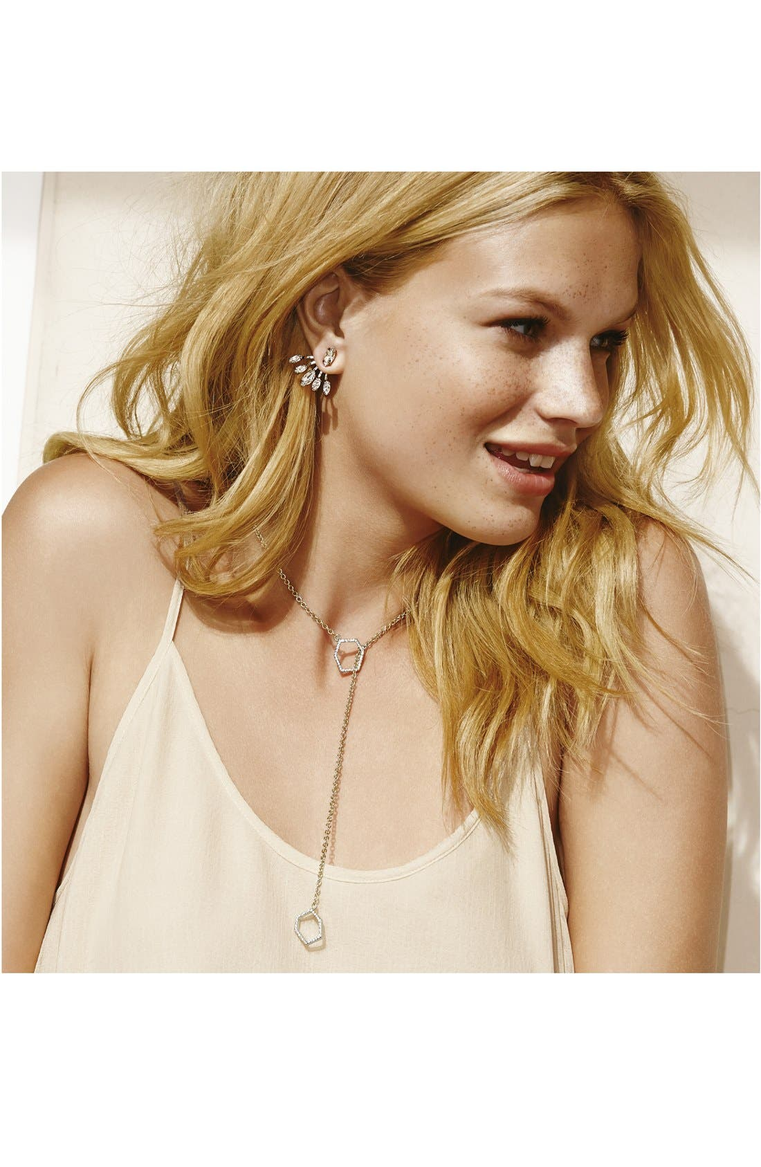 REBECCA MINKOFF, Crystal Ear Jackets, Alternate thumbnail 2, color, 040