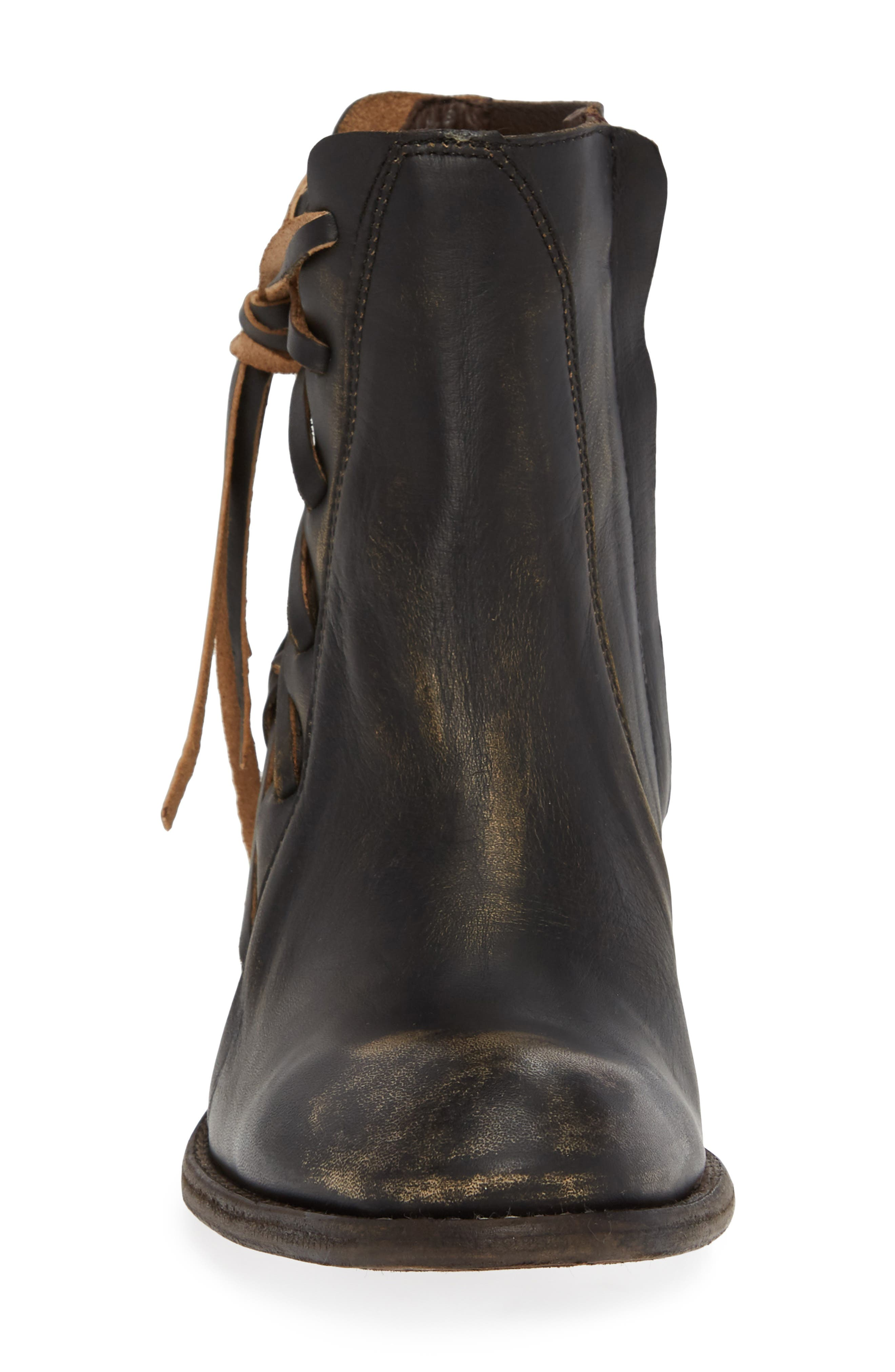 CORDANI, Salazar Western Boot, Alternate thumbnail 4, color, BROWN DISTRESSED LEATHER
