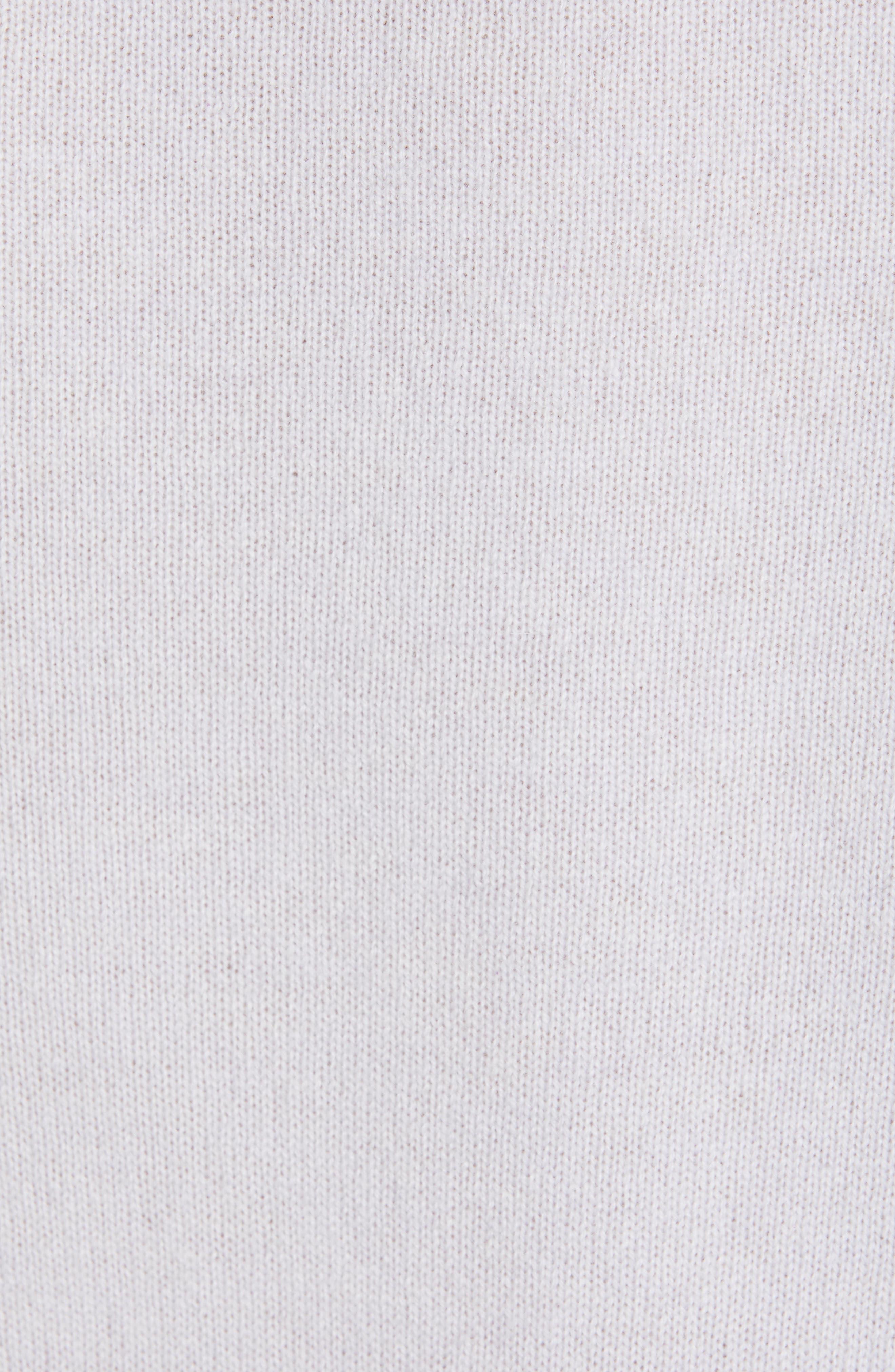 PROENZA SCHOULER, Cashmere Sweater, Alternate thumbnail 5, color, BLUE GREY
