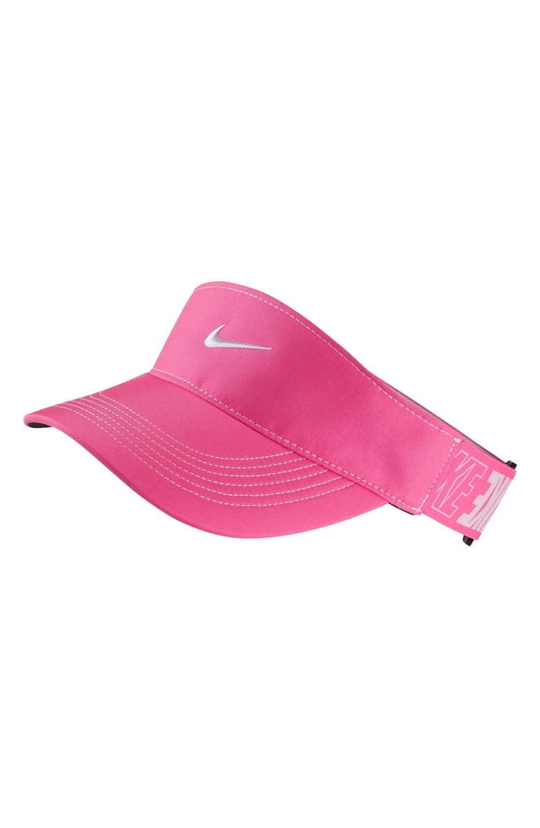 f61bff102d5 Nike Court AeroBill Tennis Visor with Logo Strap