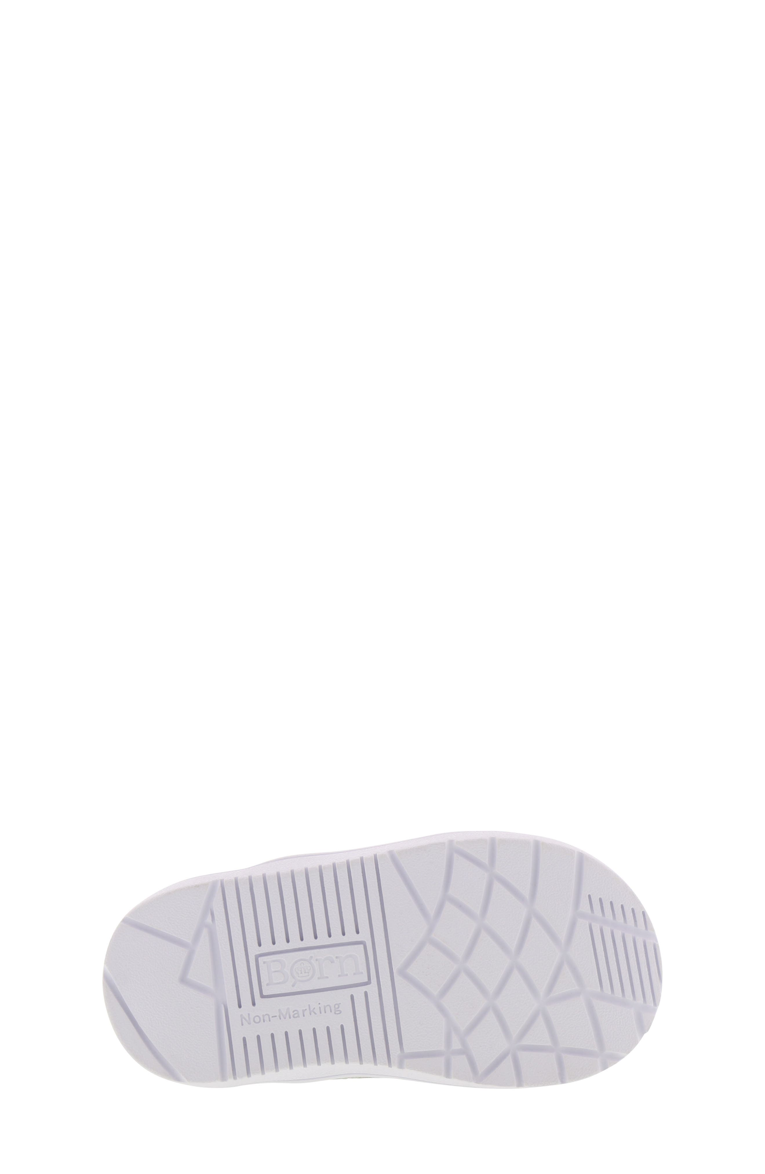 BØRN, Bailey Jaslyna Slip-On Glitter Sneaker, Alternate thumbnail 6, color, SILVER