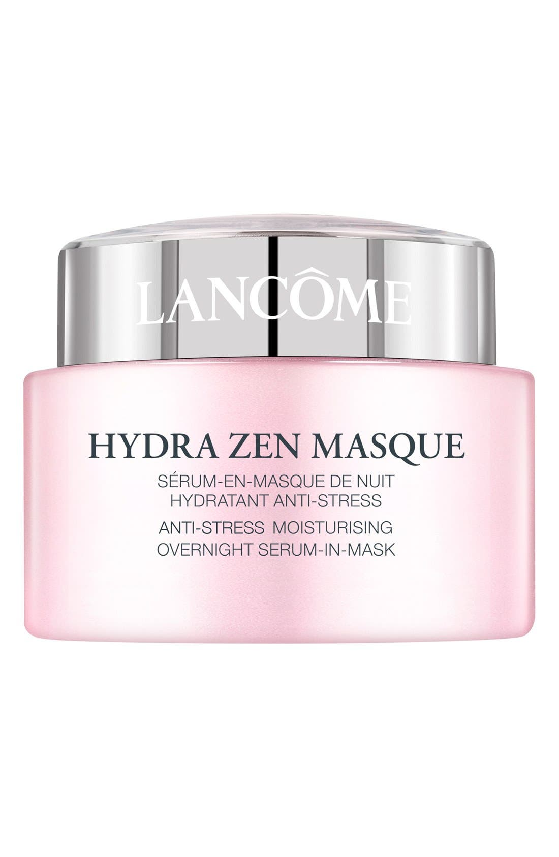 LANCÔME, Hydra Zen Anti-Stress Moisturizing Overnight Serum-in-Mask, Main thumbnail 1, color, NO COLOR