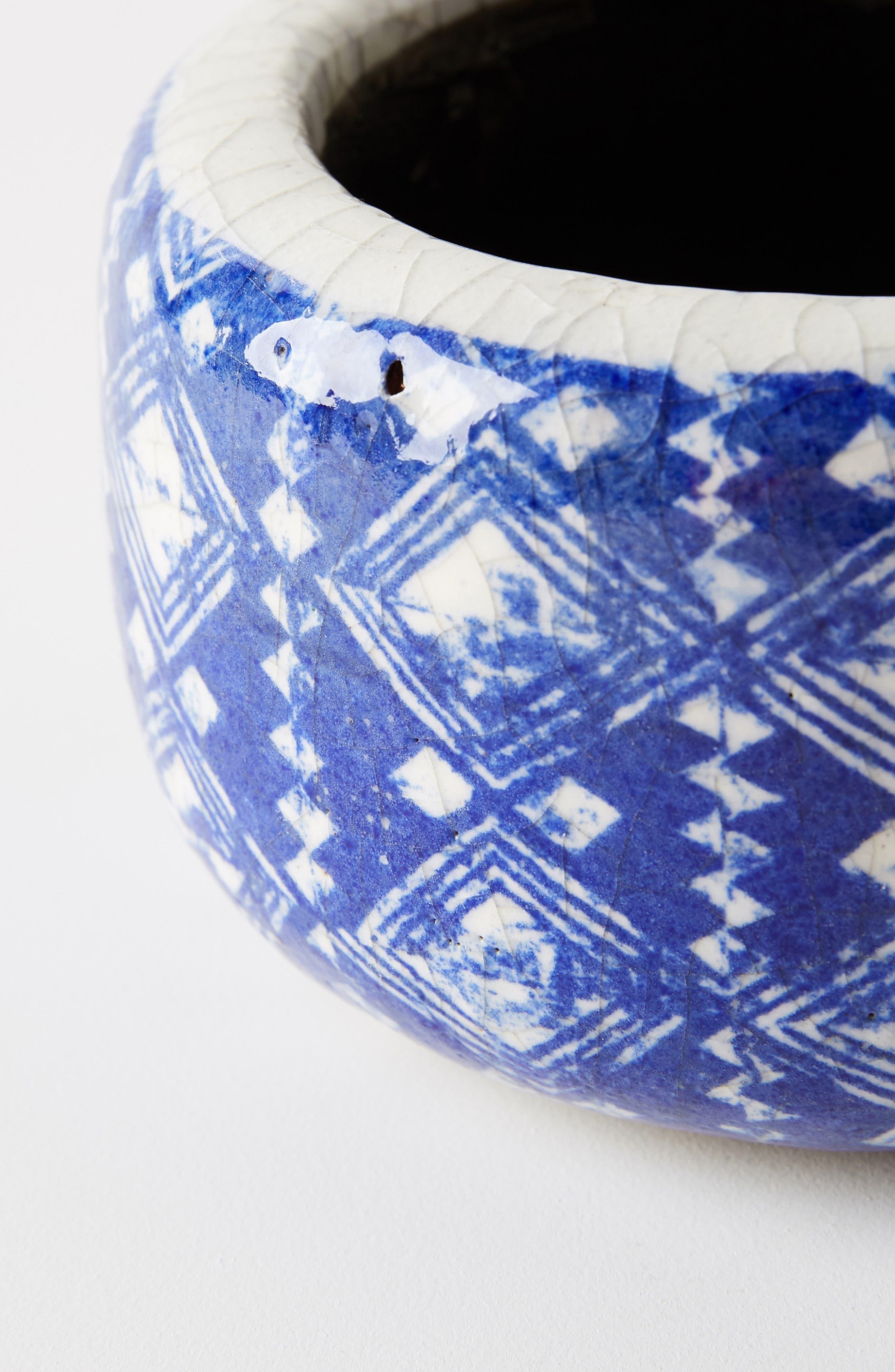 ANTHROPOLOGIE, Marnie Pot, Alternate thumbnail 2, color, BLUE