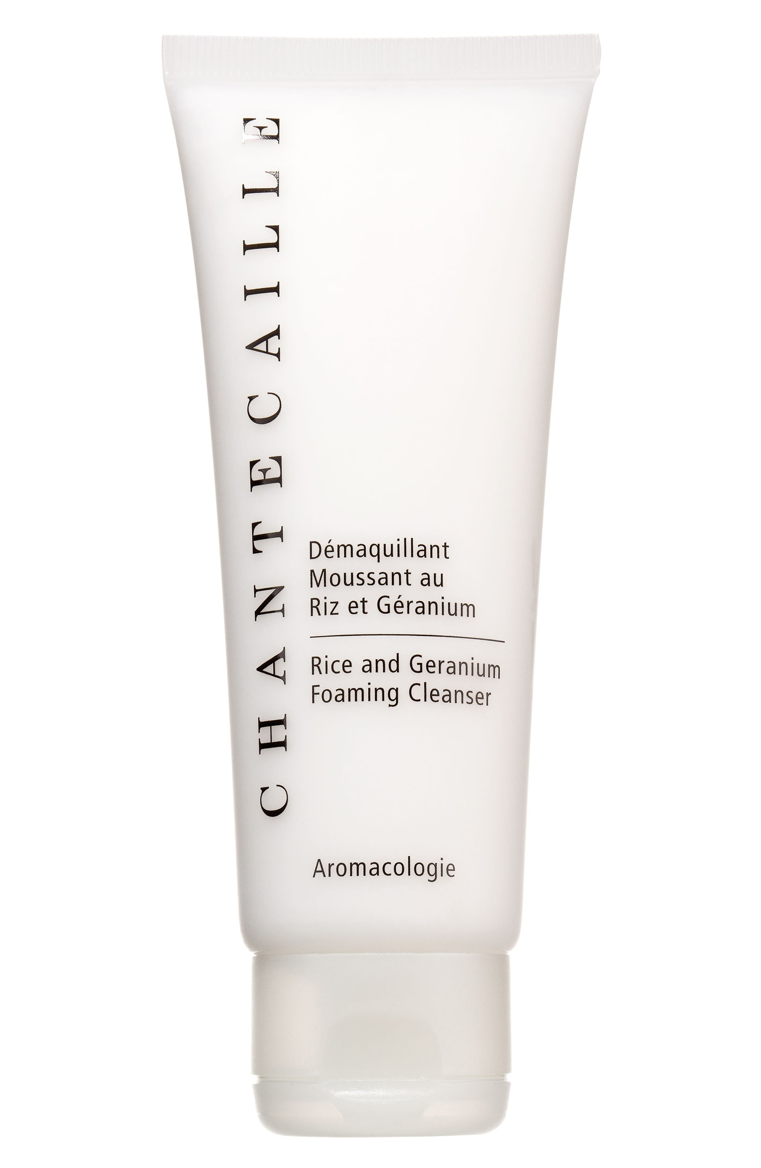 CHANTECAILLE, Rice and Geranium Foaming Cleanser, Main thumbnail 1, color, NO COLOR