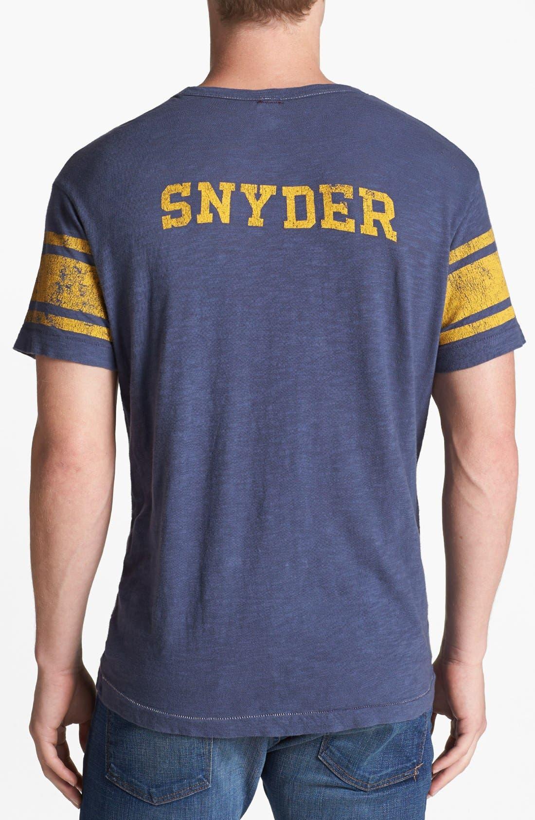 TODD SNYDER + CHAMPION, 'City Gym - Classic' Crewneck T-Shirt, Alternate thumbnail 3, color, 410