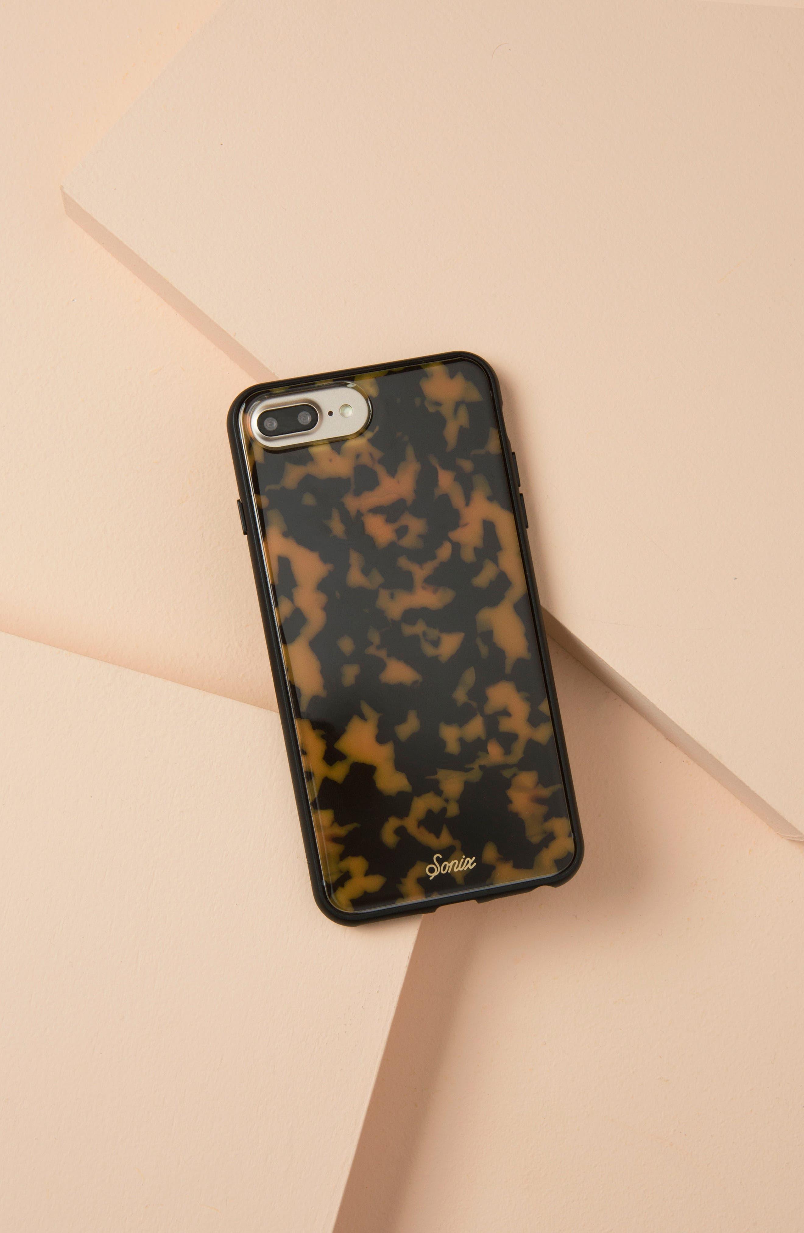 SONIX, Tortoise iPhone 6/6s/7/8 & 6/6s/7/8 Plus Case, Alternate thumbnail 4, color, 200