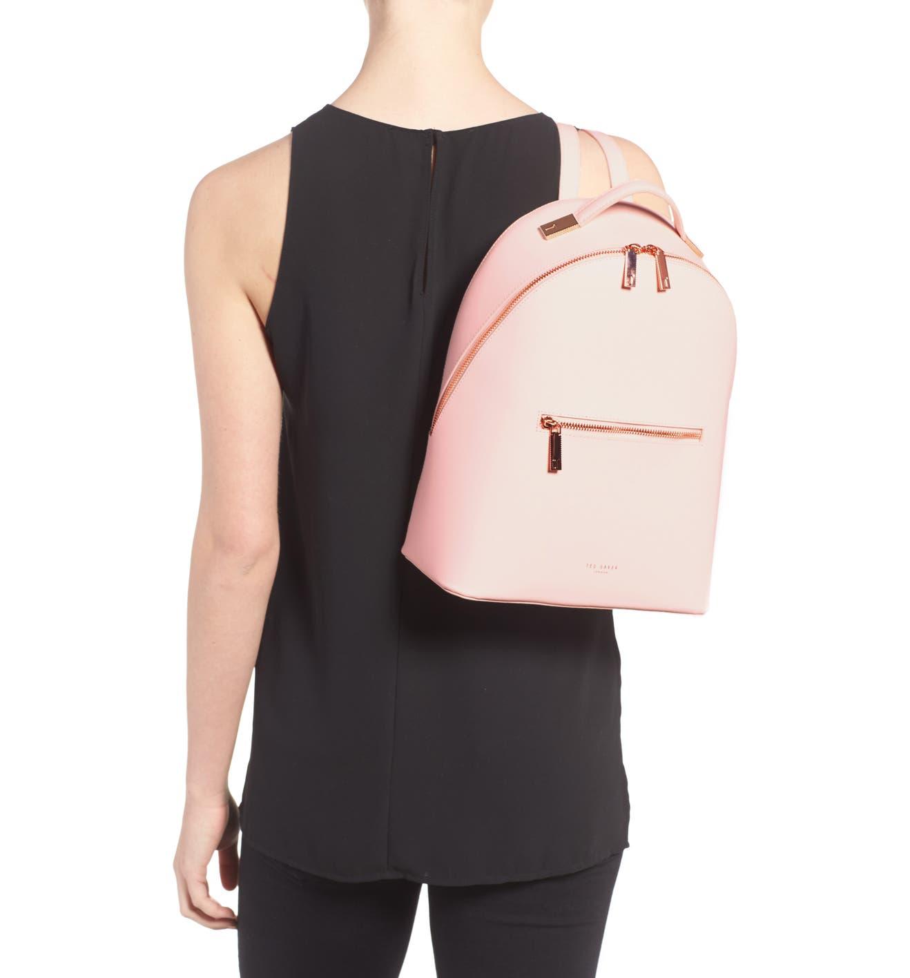 0e8e19378 Ted Baker London Mini Jarvis Leather Backpack