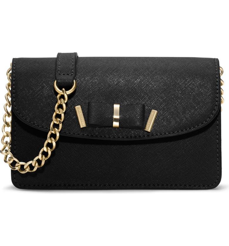 5e71f27feea435 MICHAEL MICHAEL KORS 'Small Kiera' Saffiano Leather Crossbody Bag, Main, ...