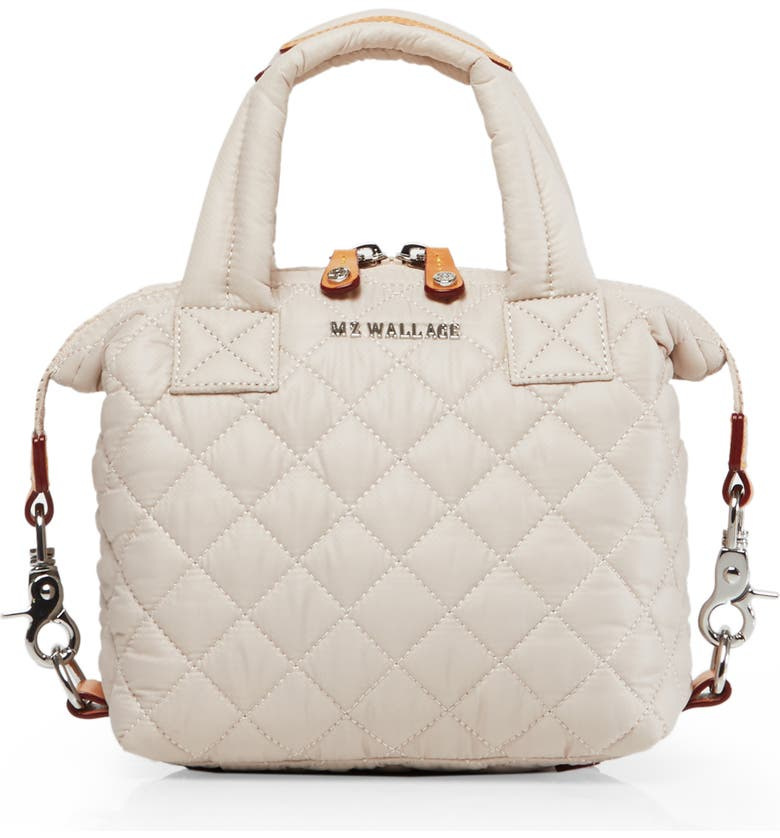 Mz Wallace Totes MICRO SUTTON TOTE - IVORY