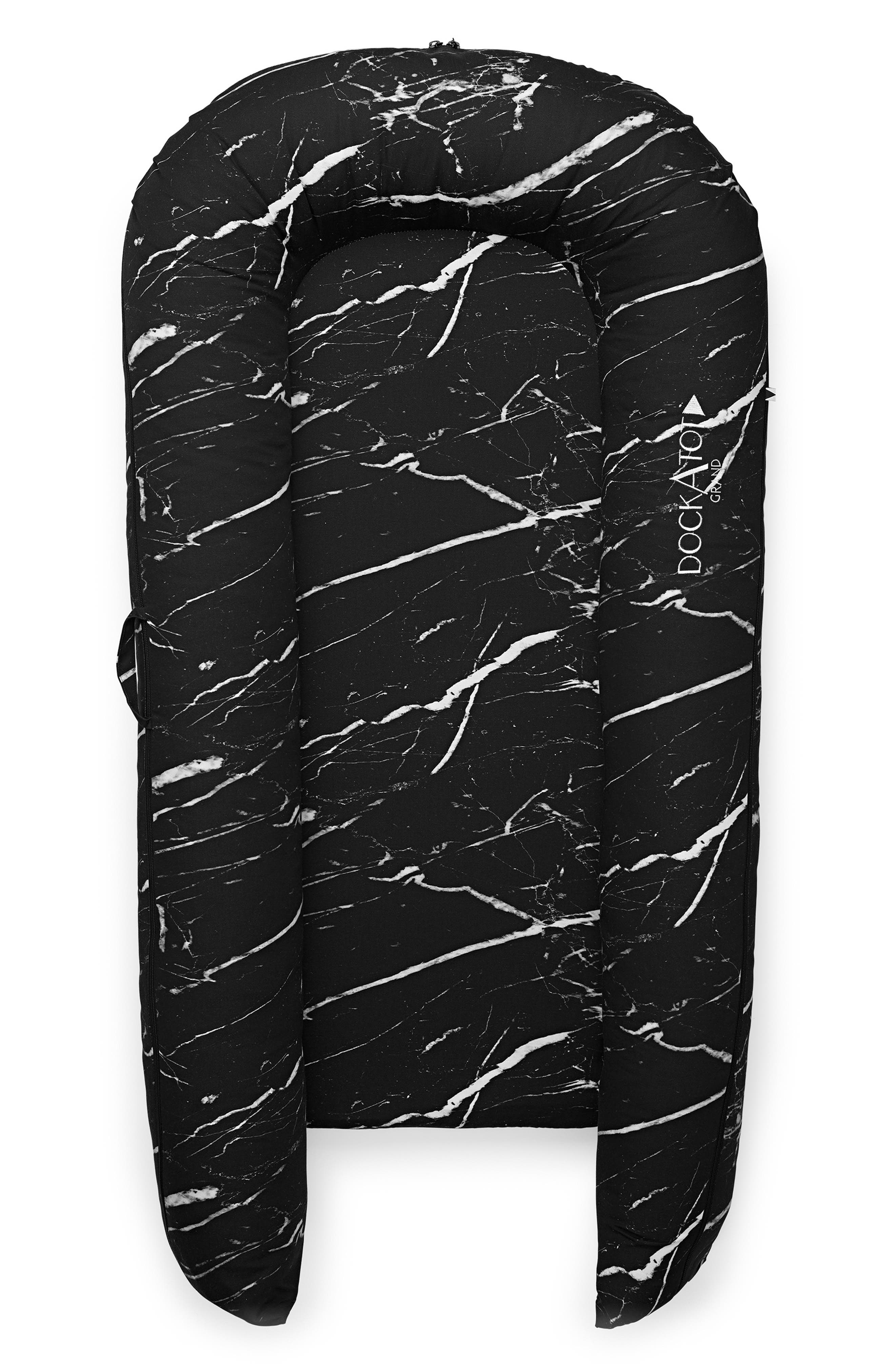 DOCKATOT Grand Stage 2 Dock Cover, Main, color, BLACK MARBLE