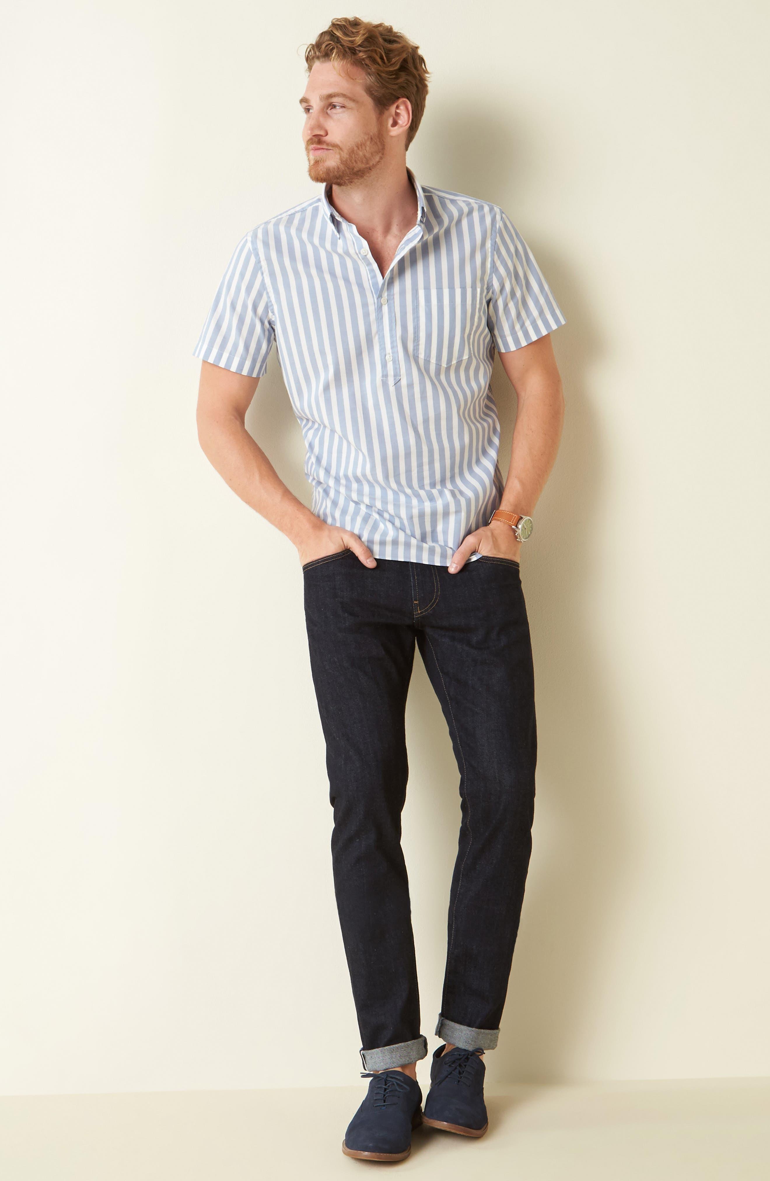 AG, Tellis Slim Fit Jeans, Alternate thumbnail 5, color, ALPHA
