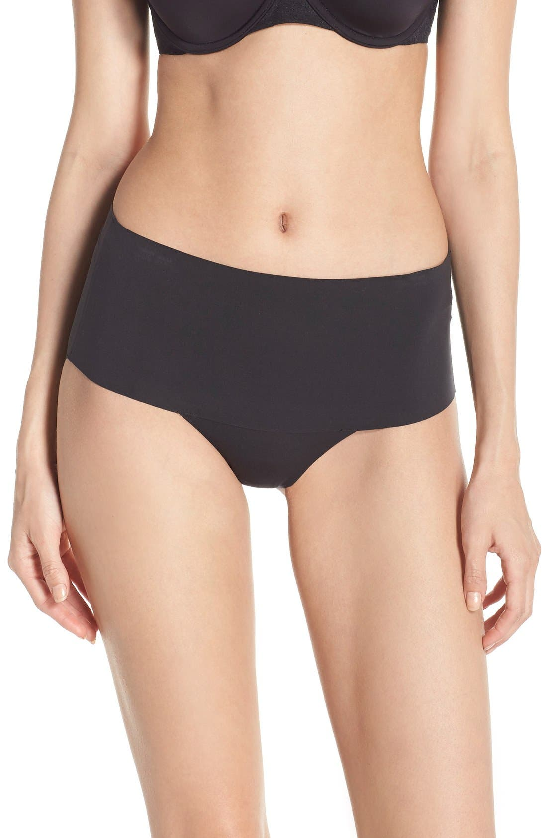SPANX<SUP>®</SUP>, Undie-tectable Briefs, Main thumbnail 1, color, VERY BLACK