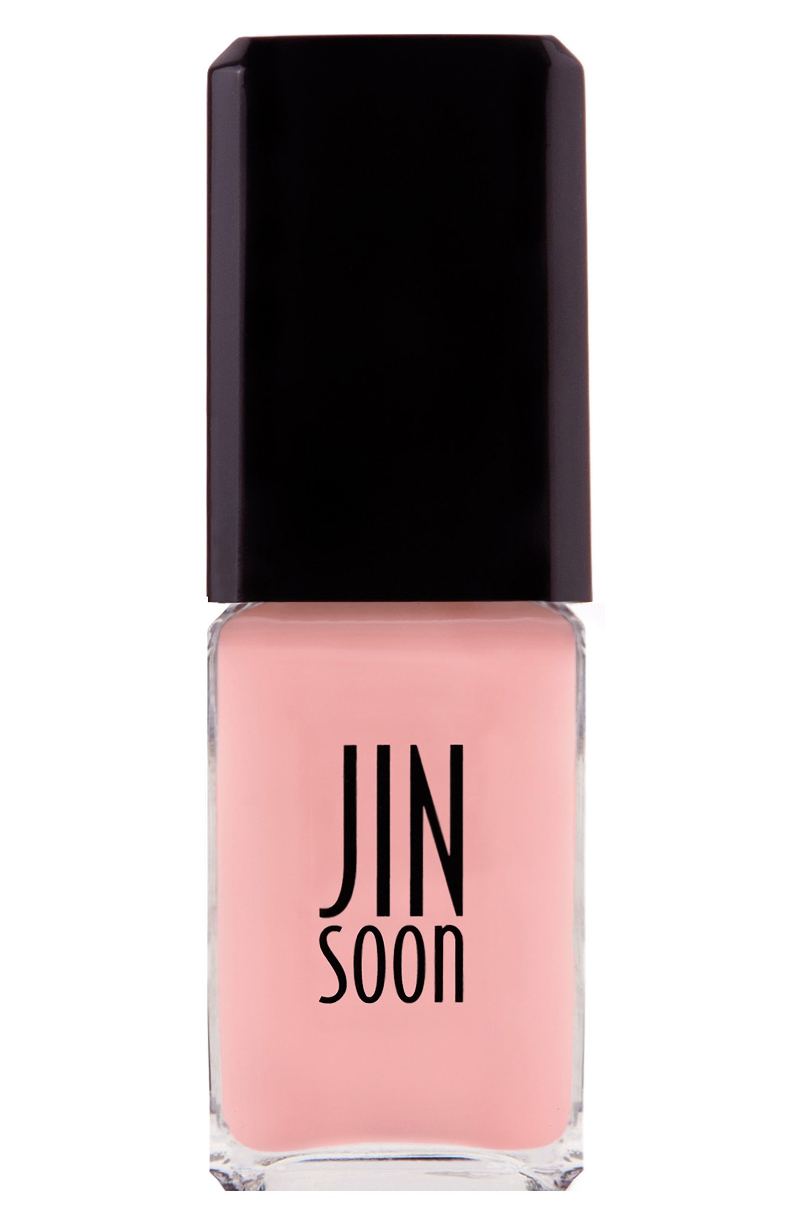 JINSOON, 'Dolly Pink' Nail Lacquer, Main thumbnail 1, color, 650