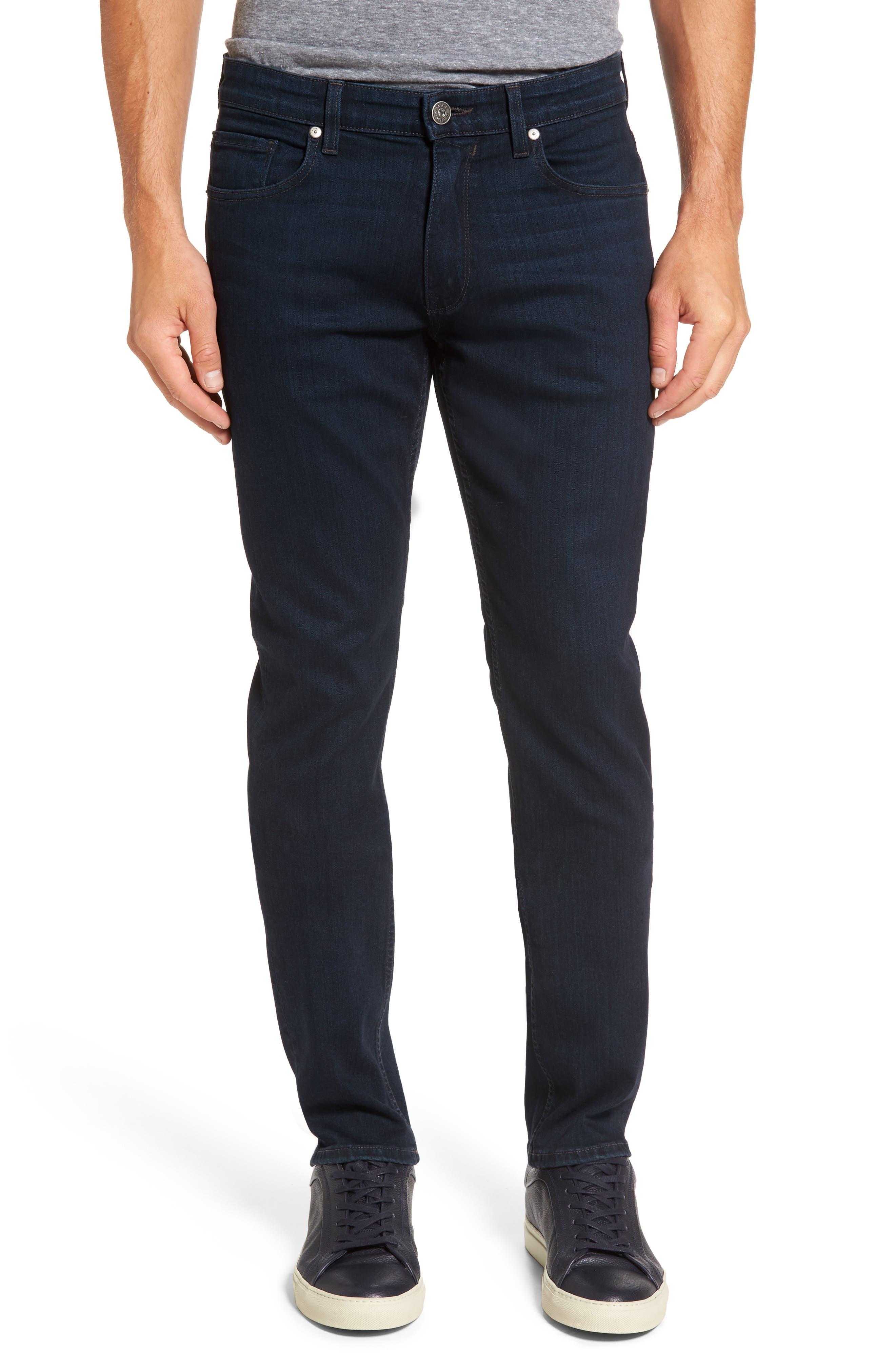 PAIGE, Normandie Straight Leg Jeans, Main thumbnail 1, color, ARLO