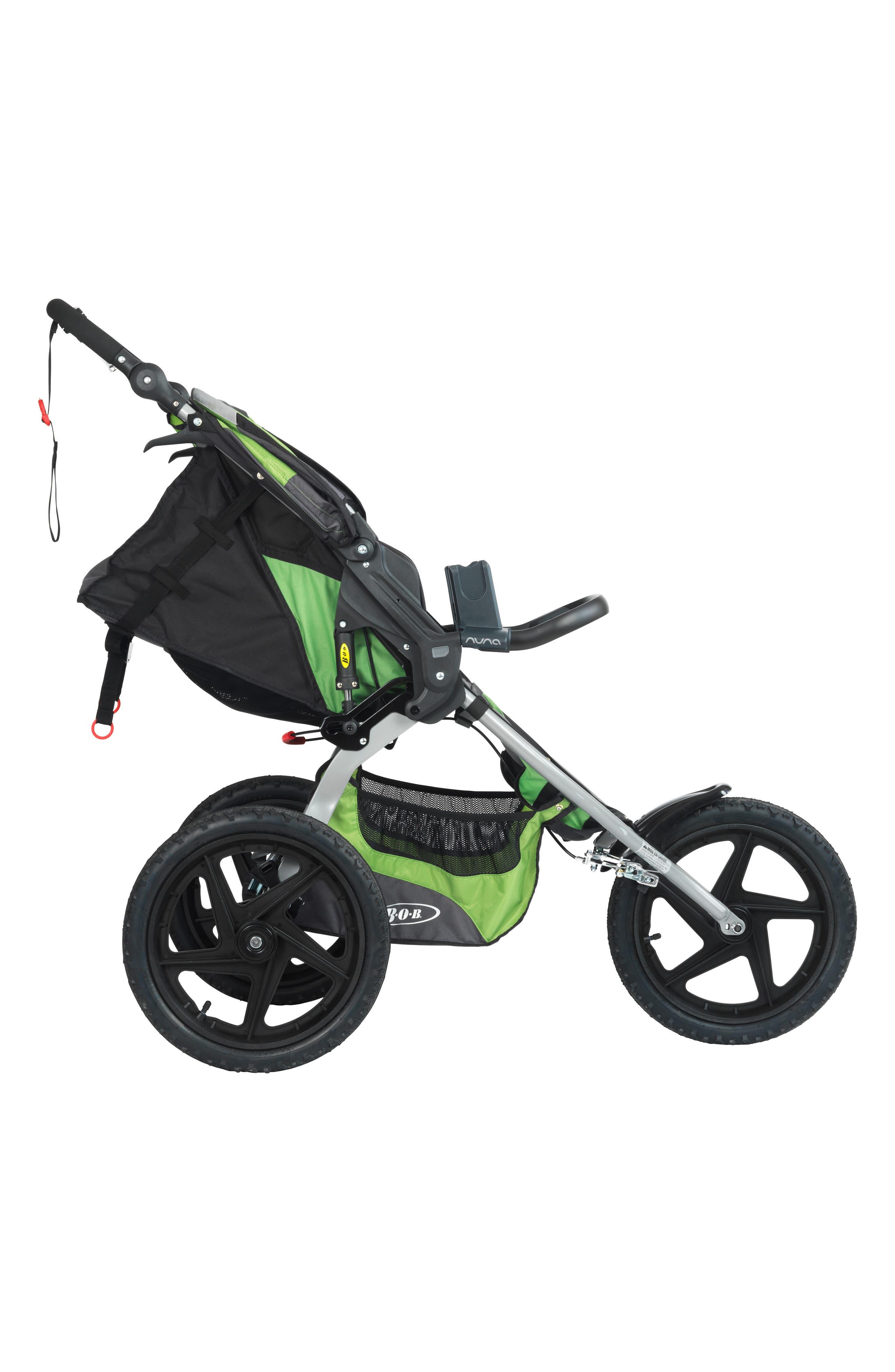 NUNA, PIPA<sup>™</sup> Car Seat Adapter for BOB Single Strollers, Main thumbnail 1, color, BLACK