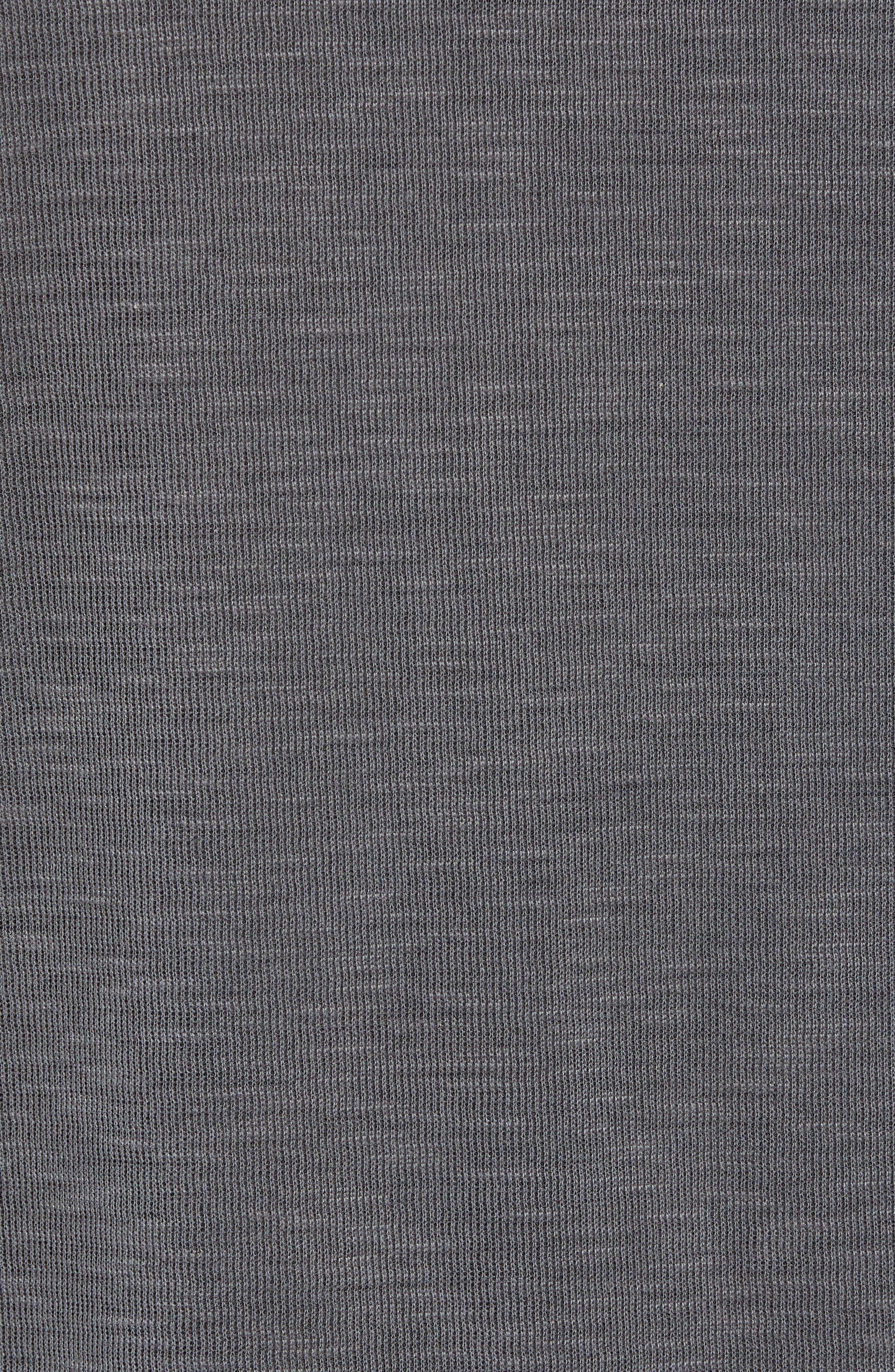 TOMMY BAHAMA, Flip Tide T-shirt, Alternate thumbnail 7, color, BLACK