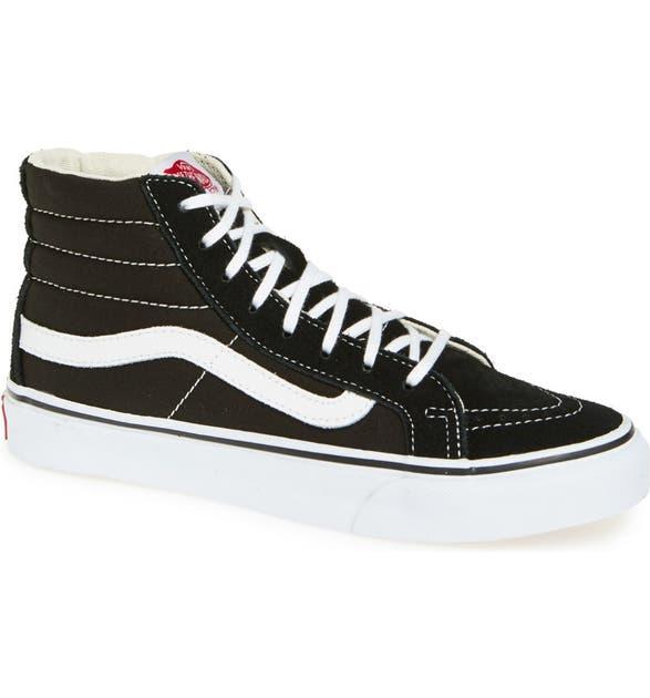 7d42528079 Vans Sk8-Hi Slim High Top Sneaker (Women)