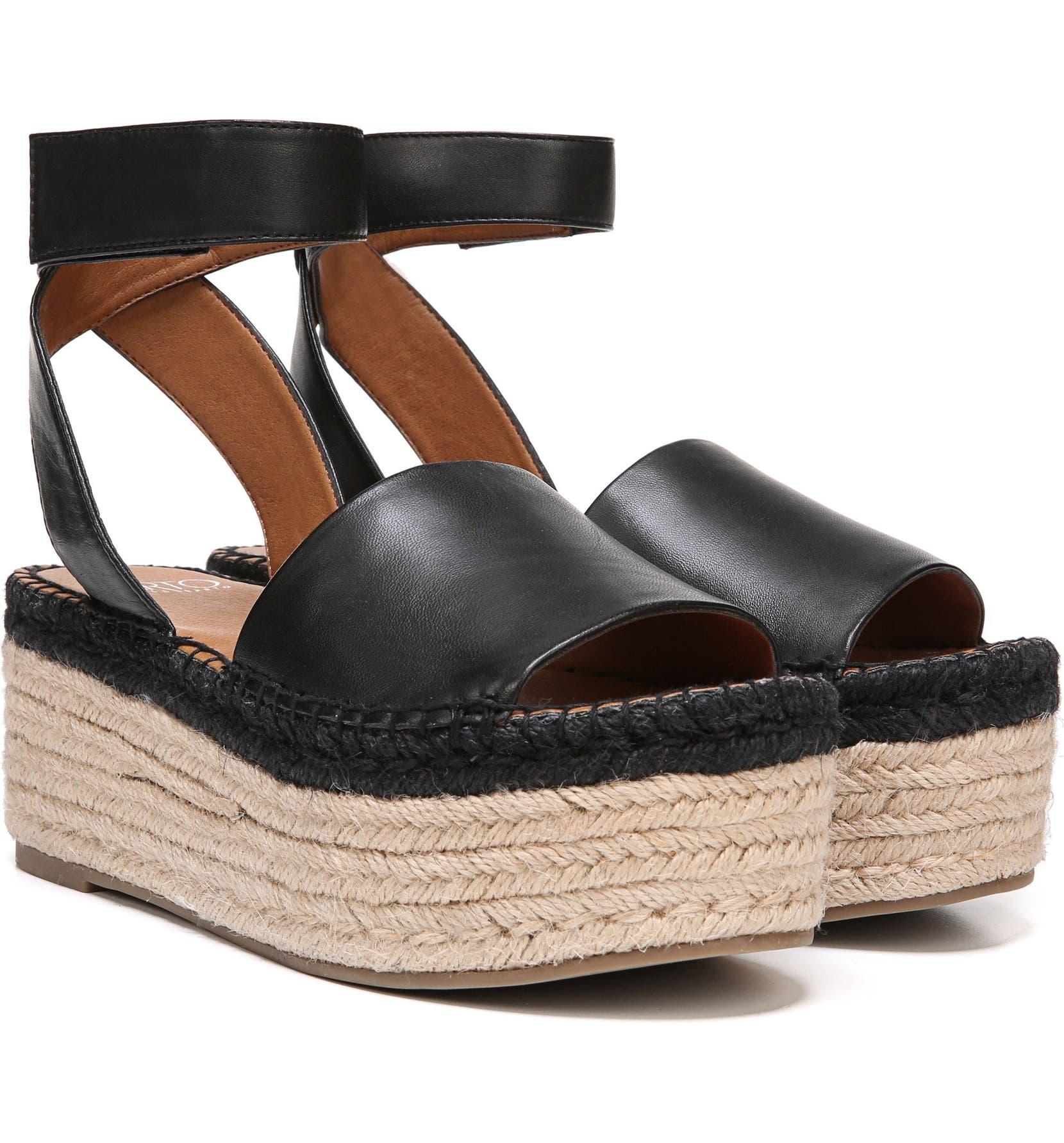 5aa153616ef SARTO by Franco Sarto Maisi Platform Espadrille Sandal (Women ...
