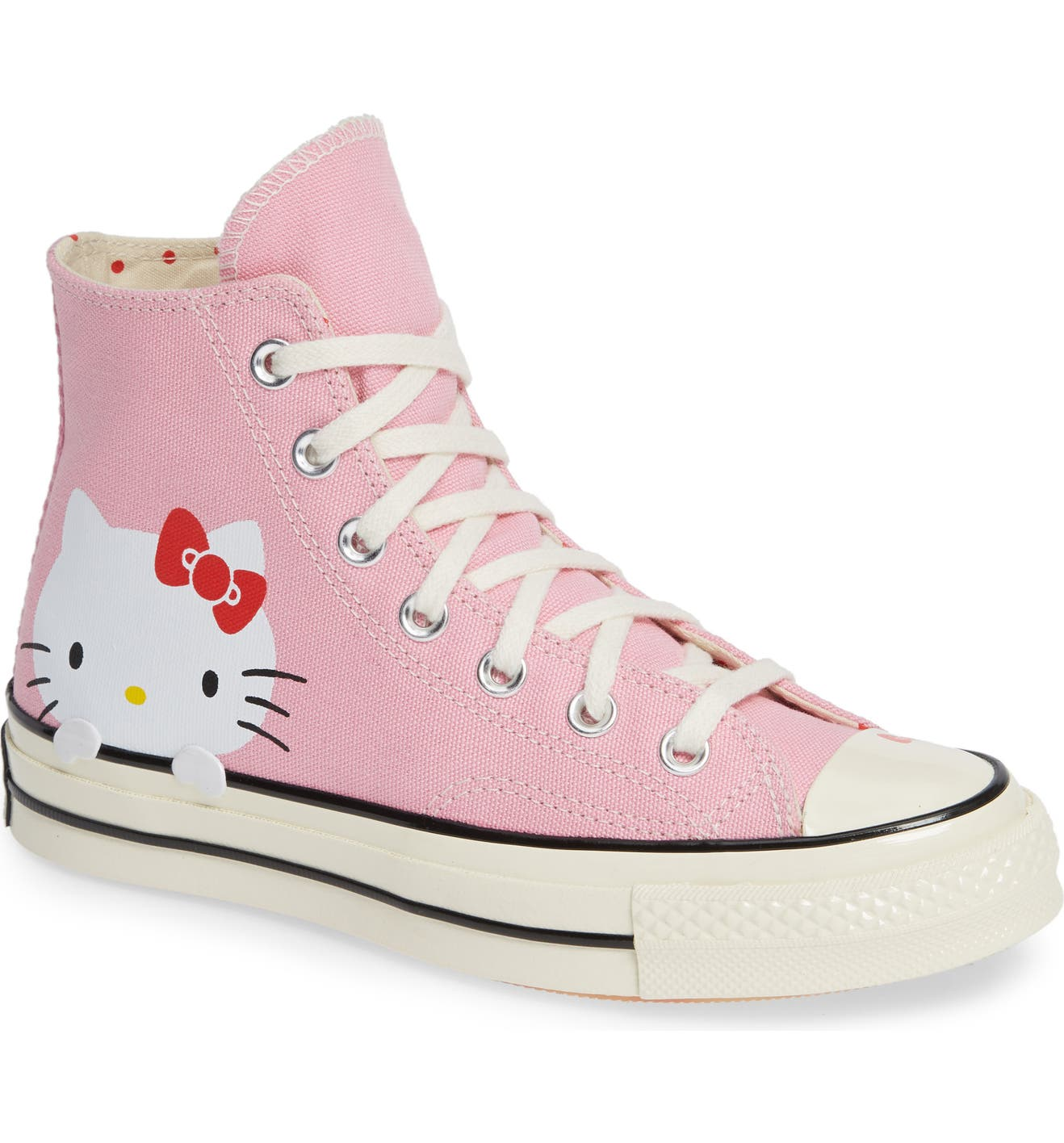 3c607504dff1 Converse Chuck Taylor® All Star® Hello Kitty CT 70 High Top Sneaker (Women)