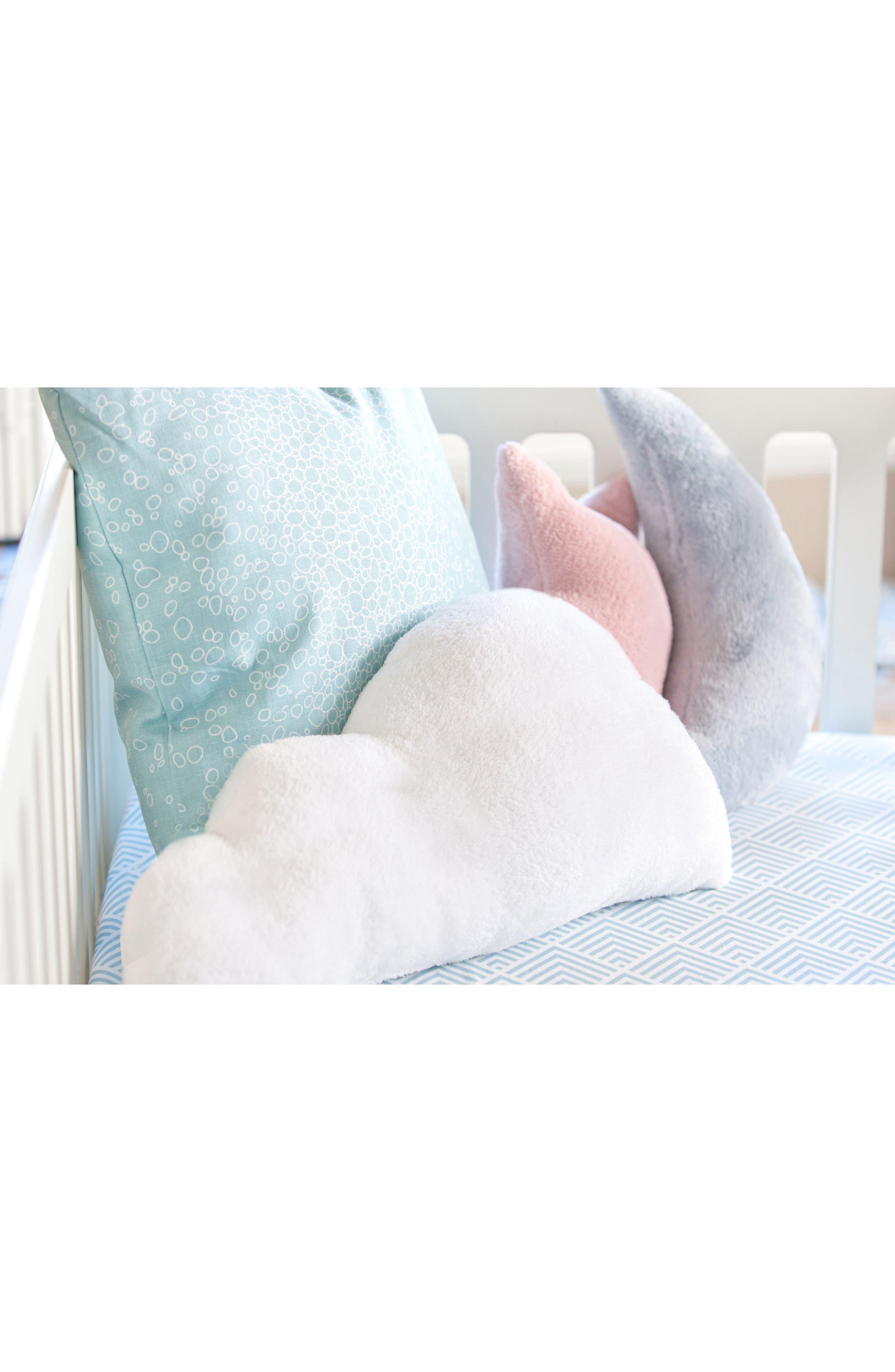 OILO, Cloud & Star Pillows, Alternate thumbnail 3, color, BLUSH