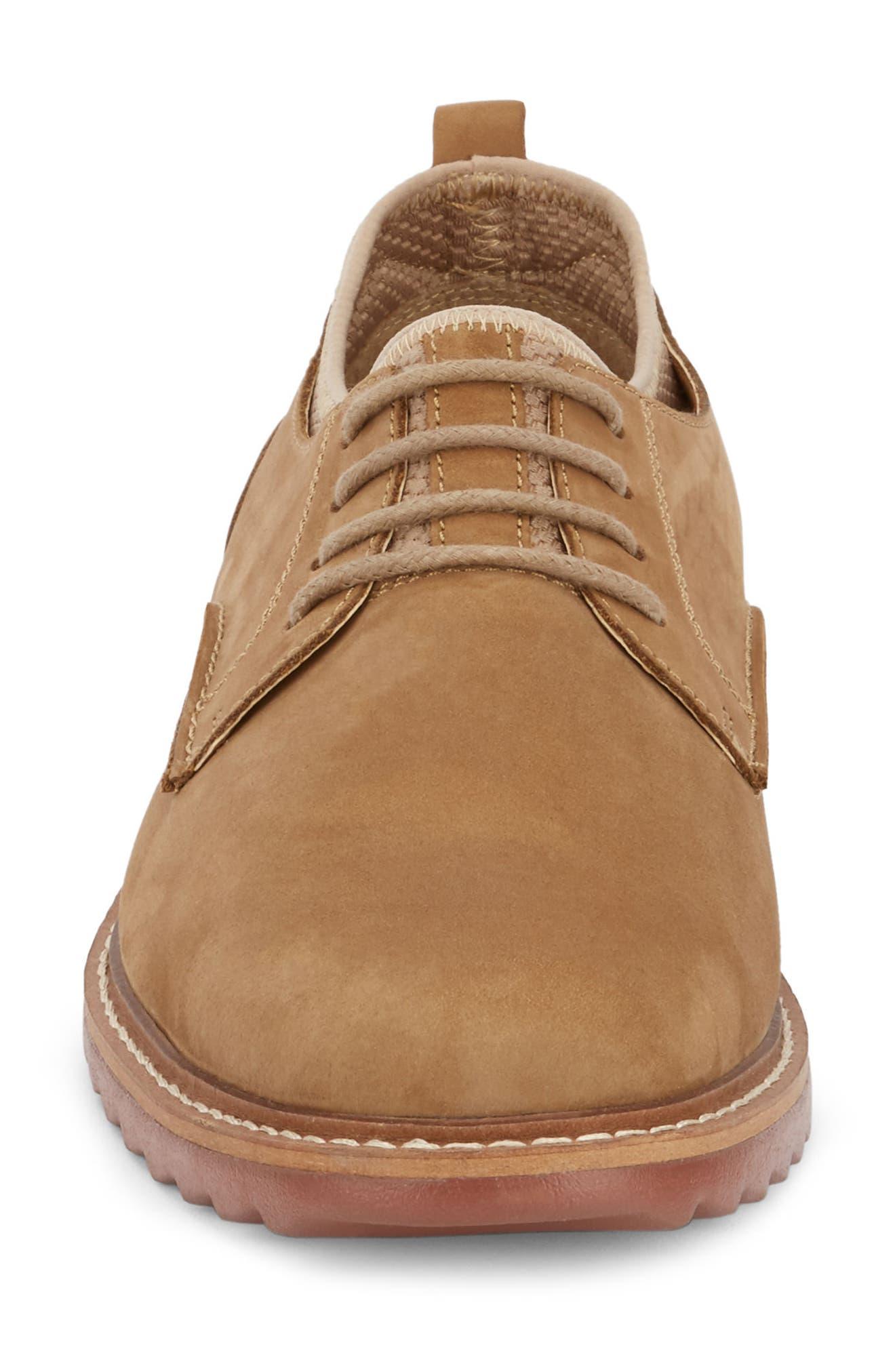 G.H. BASS & CO., Buck 2.0 Plain Toe Derby, Alternate thumbnail 4, color, BROWN NUBUCK