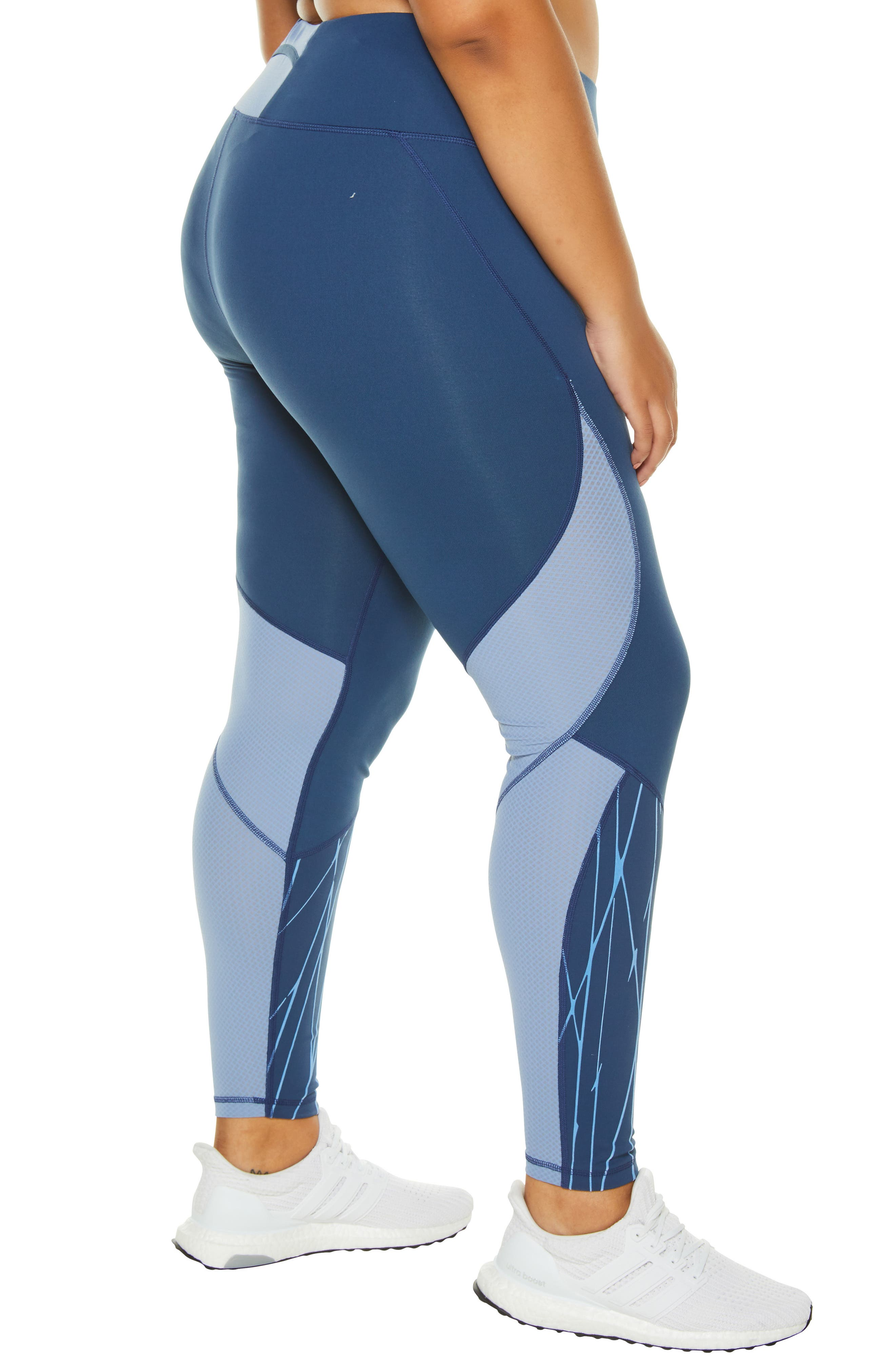 SHAPE ACTIVEWEAR, Stealth Leggings, Alternate thumbnail 5, color, INSIGNIA