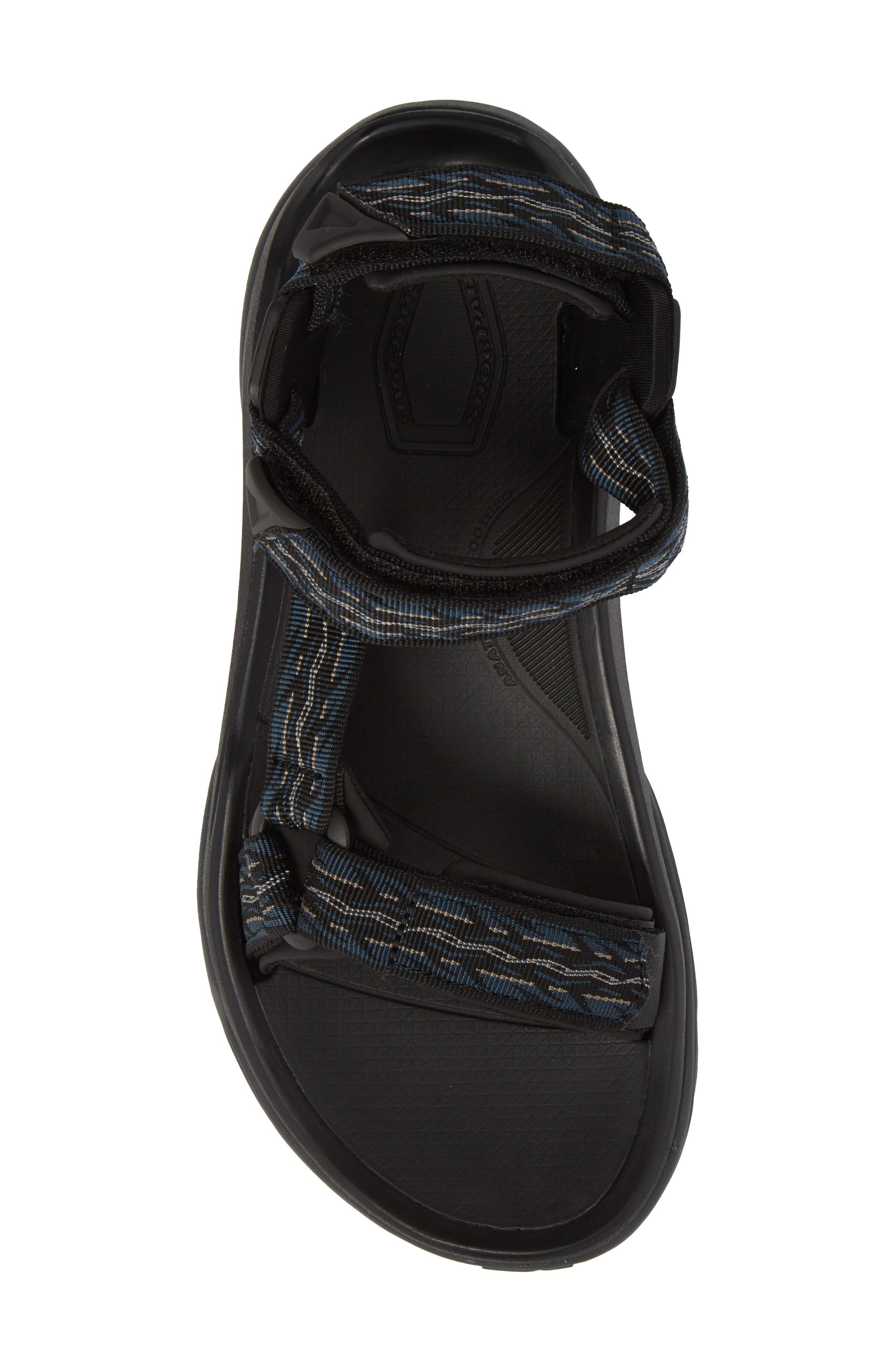 TEVA, Terra Fi 4 Sport Sandal, Alternate thumbnail 5, color, MIDNIGHT BLUE NYLON