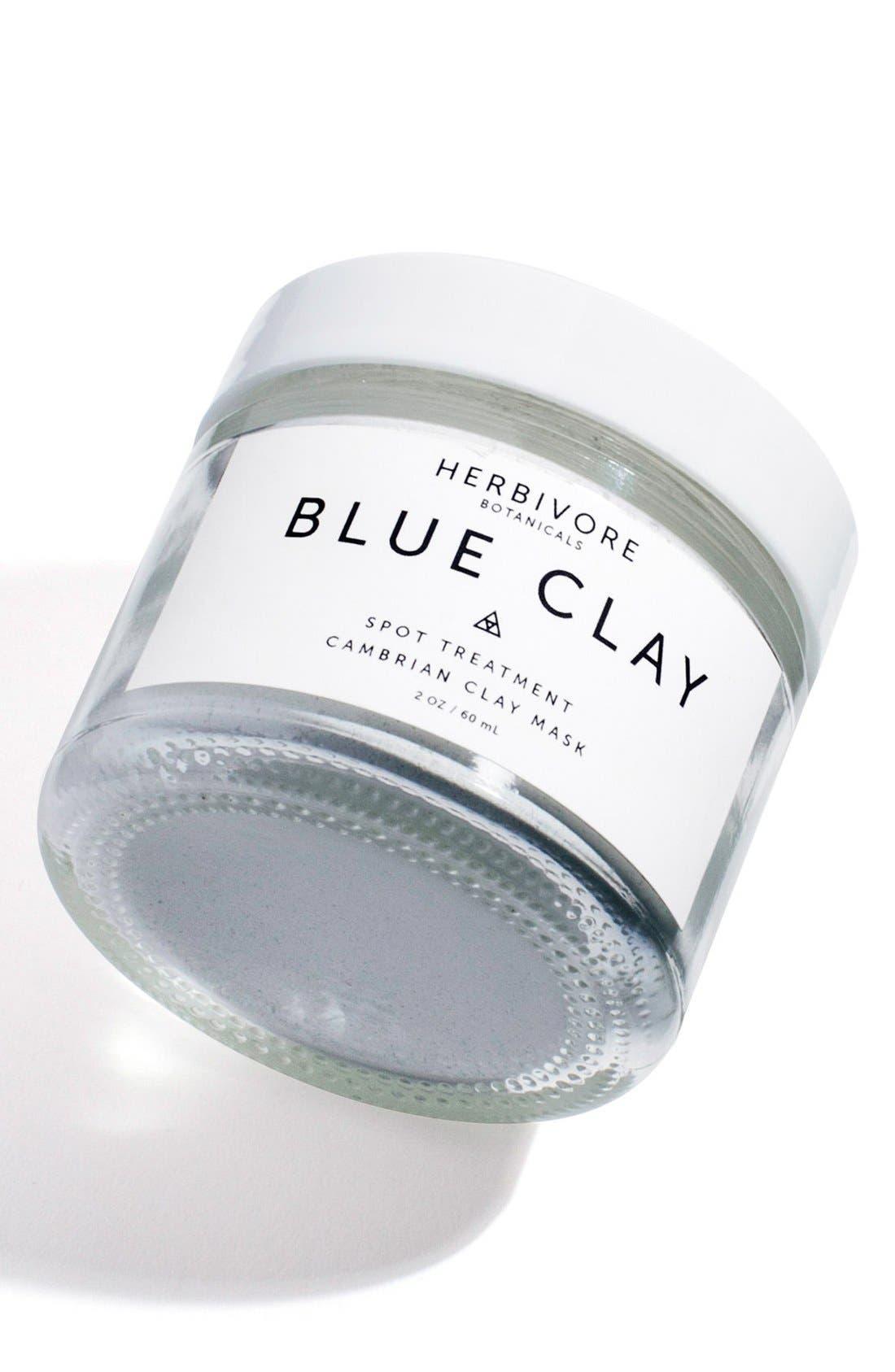 HERBIVORE BOTANICALS, Blue Clay Spot Treatment Mask, Alternate thumbnail 5, color, NO COLOR