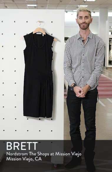 Pleated Jersey Dress, sales video thumbnail