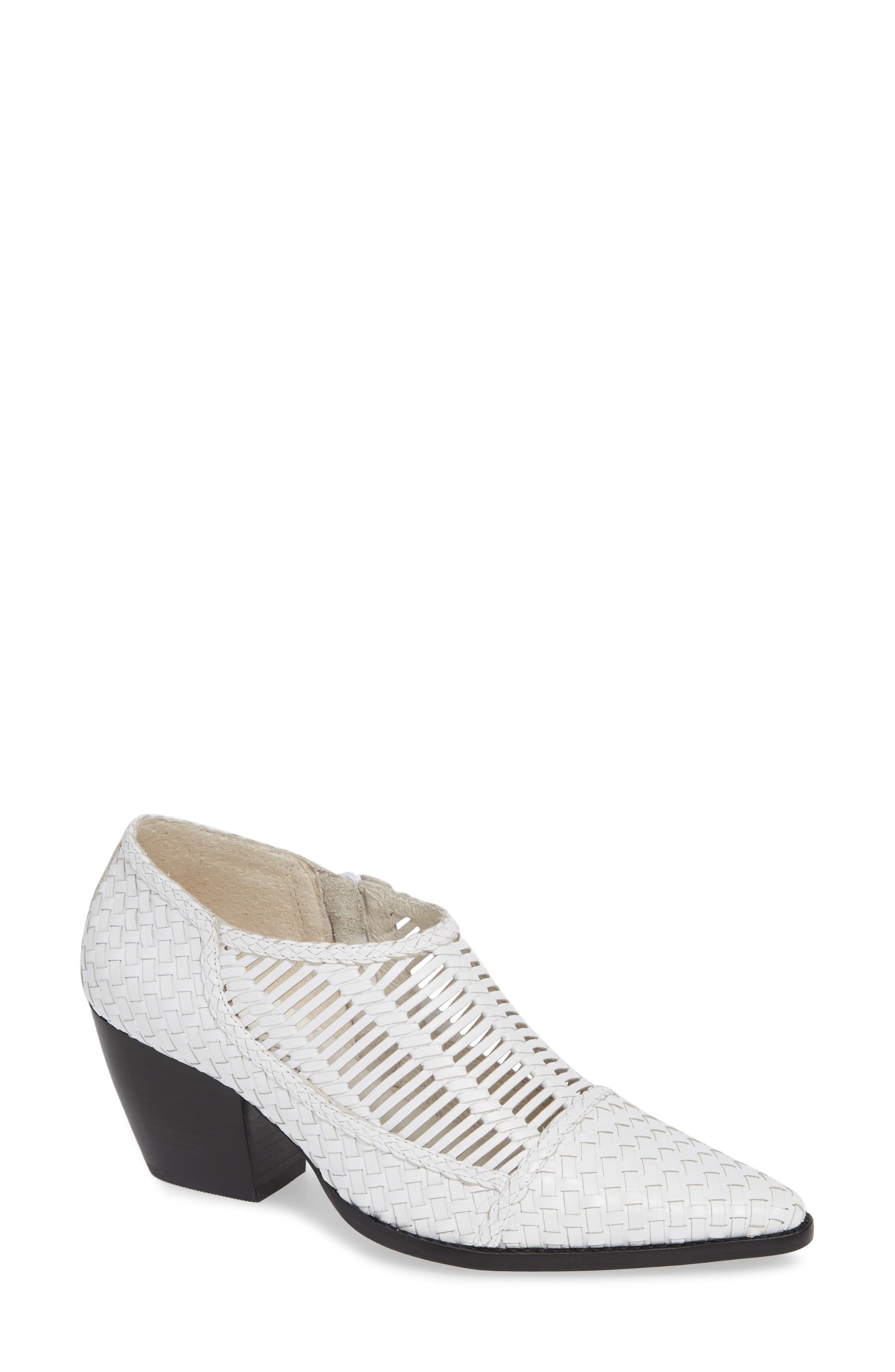 Matisse Vigo Woven Bootie, White