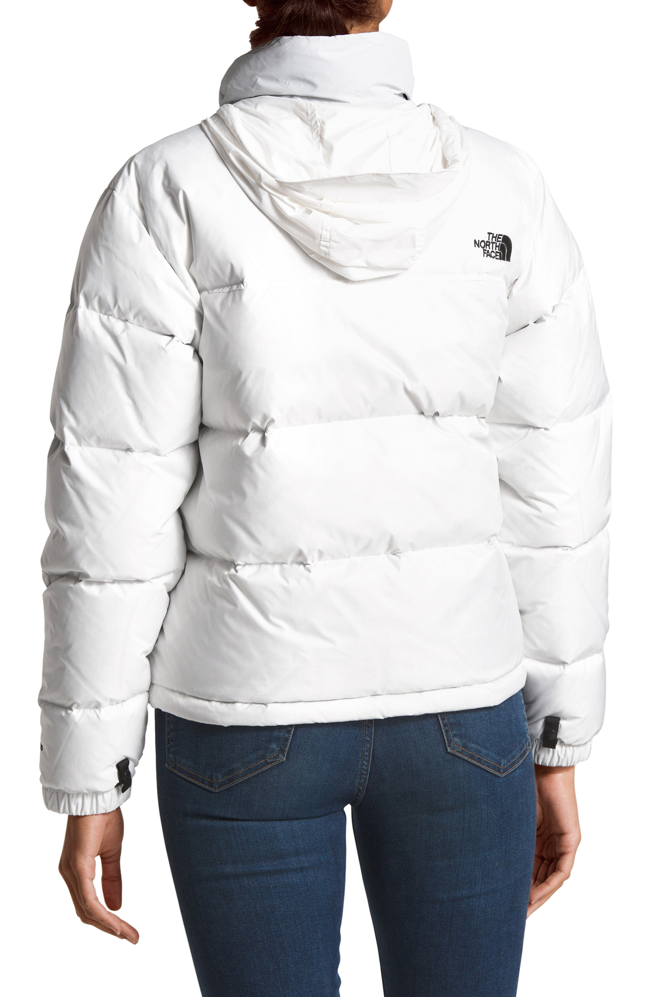 THE NORTH FACE, Nuptse 1996 Packable Quilted Down Jacket, Alternate thumbnail 2, color, TNF WHITE