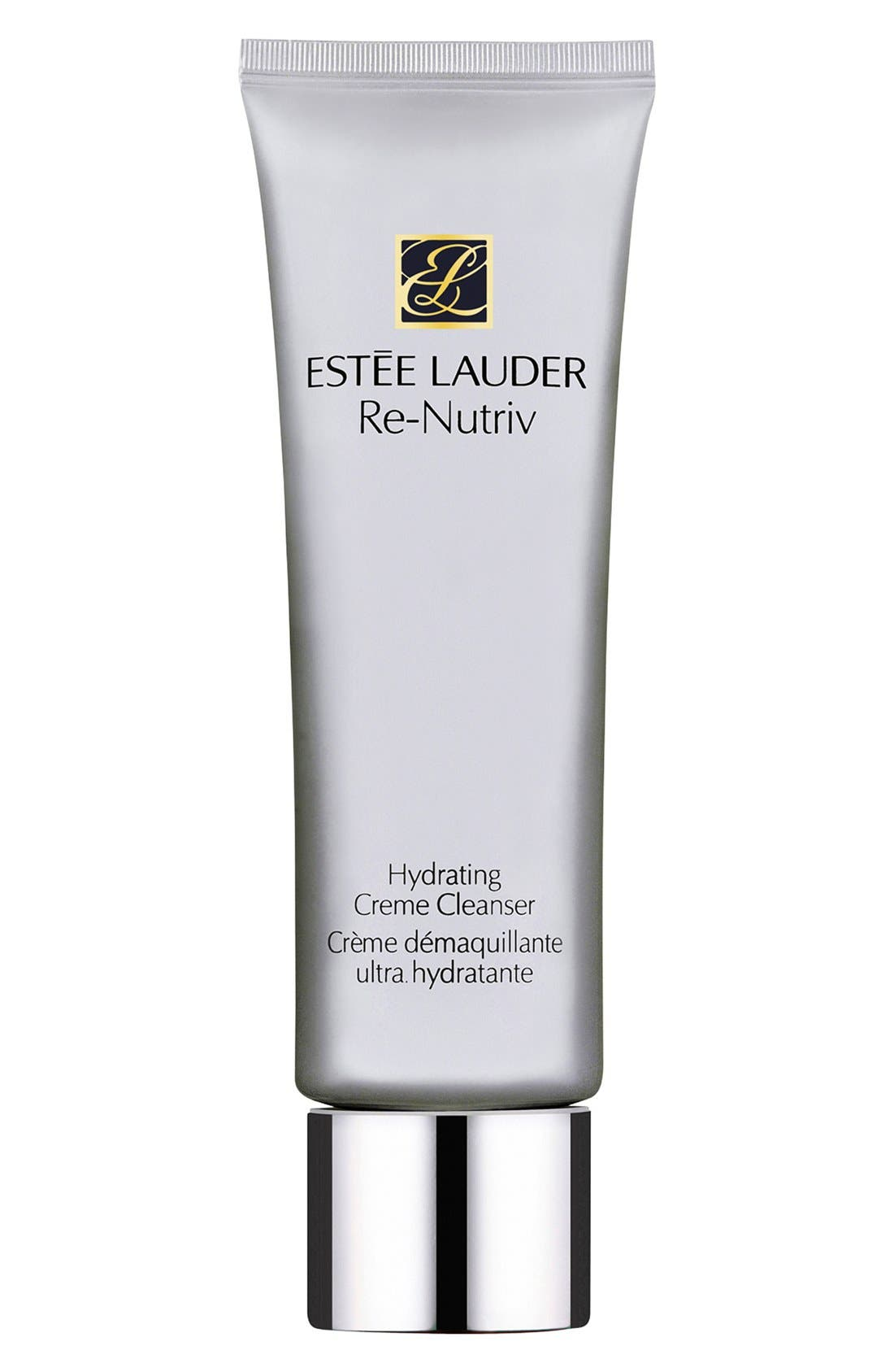 ESTÉE LAUDER, Re-Nutriv Hydrating Creme Cleanser, Main thumbnail 1, color, NO COLOR