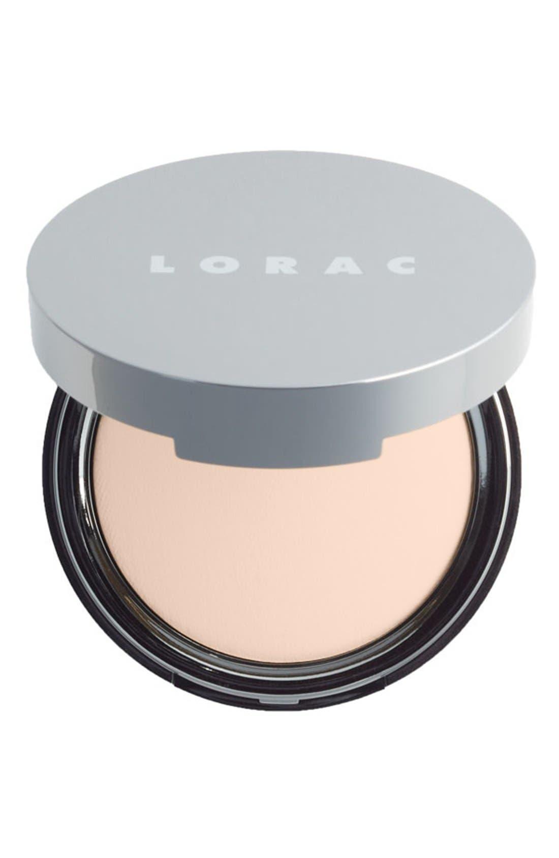 LORAC, 'POREfection<sup>®</sup>' Baked Perfecting Powder, Main thumbnail 1, color, PF1 FAIR