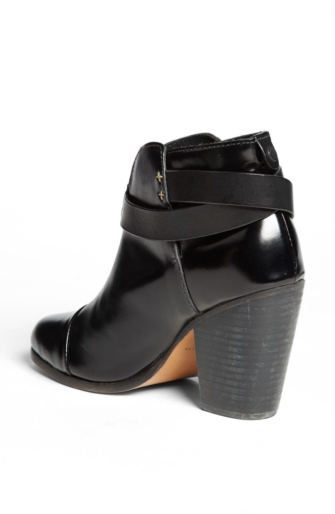 RAG & BONE, 'Harrow' Bootie, Alternate thumbnail 4, color, 001