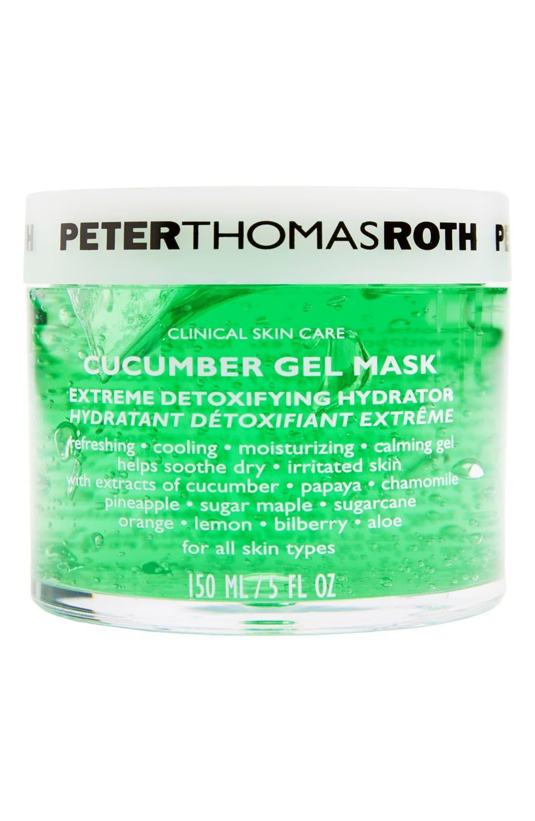 PETER THOMAS ROTH, Cucumber Gel Mask, Main thumbnail 1, color, NO COLOR
