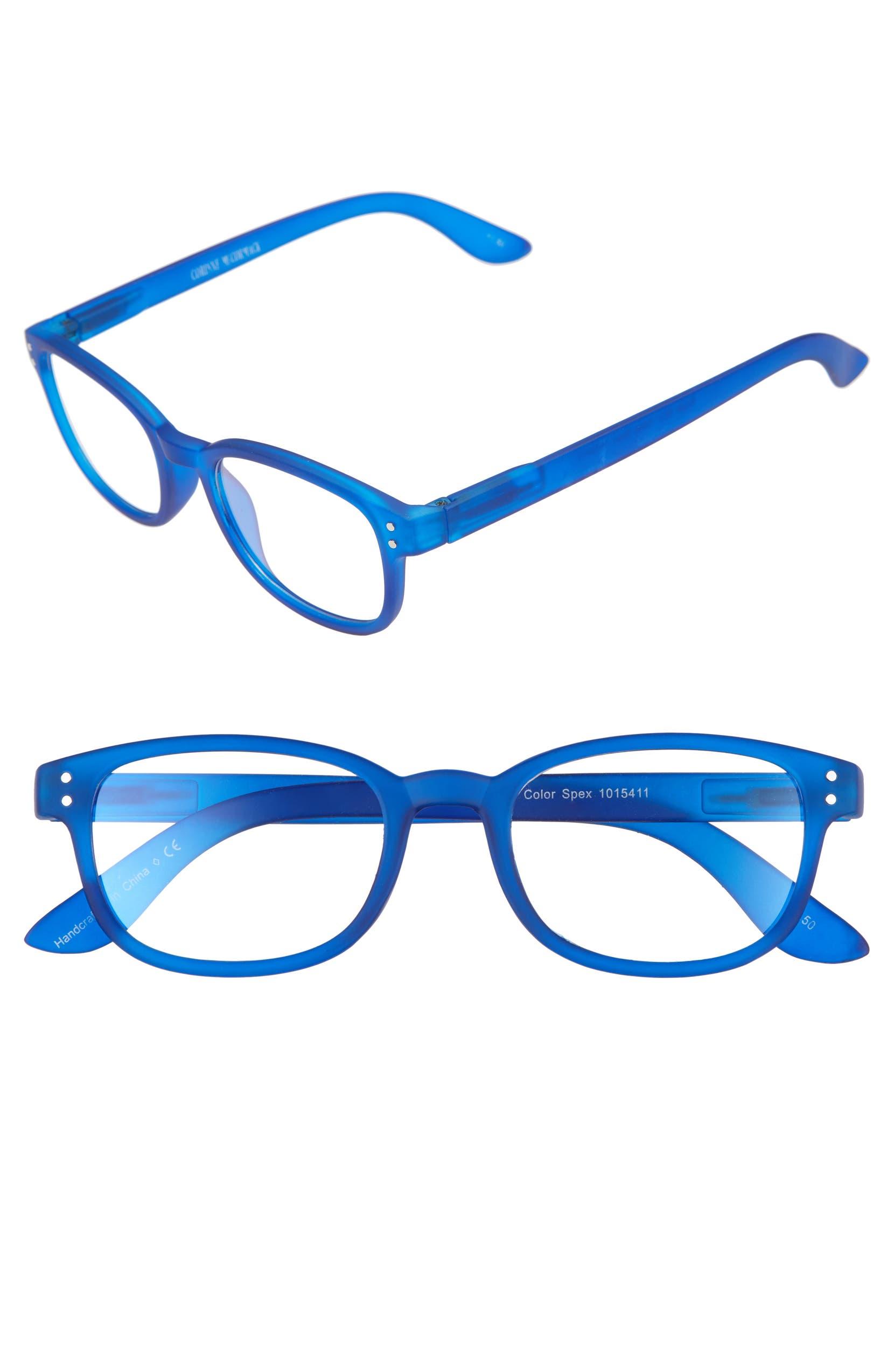 0e235b69b54c Corinne McCormack ColorSpex® 50mm Blue Light Blocking Reading Glasses