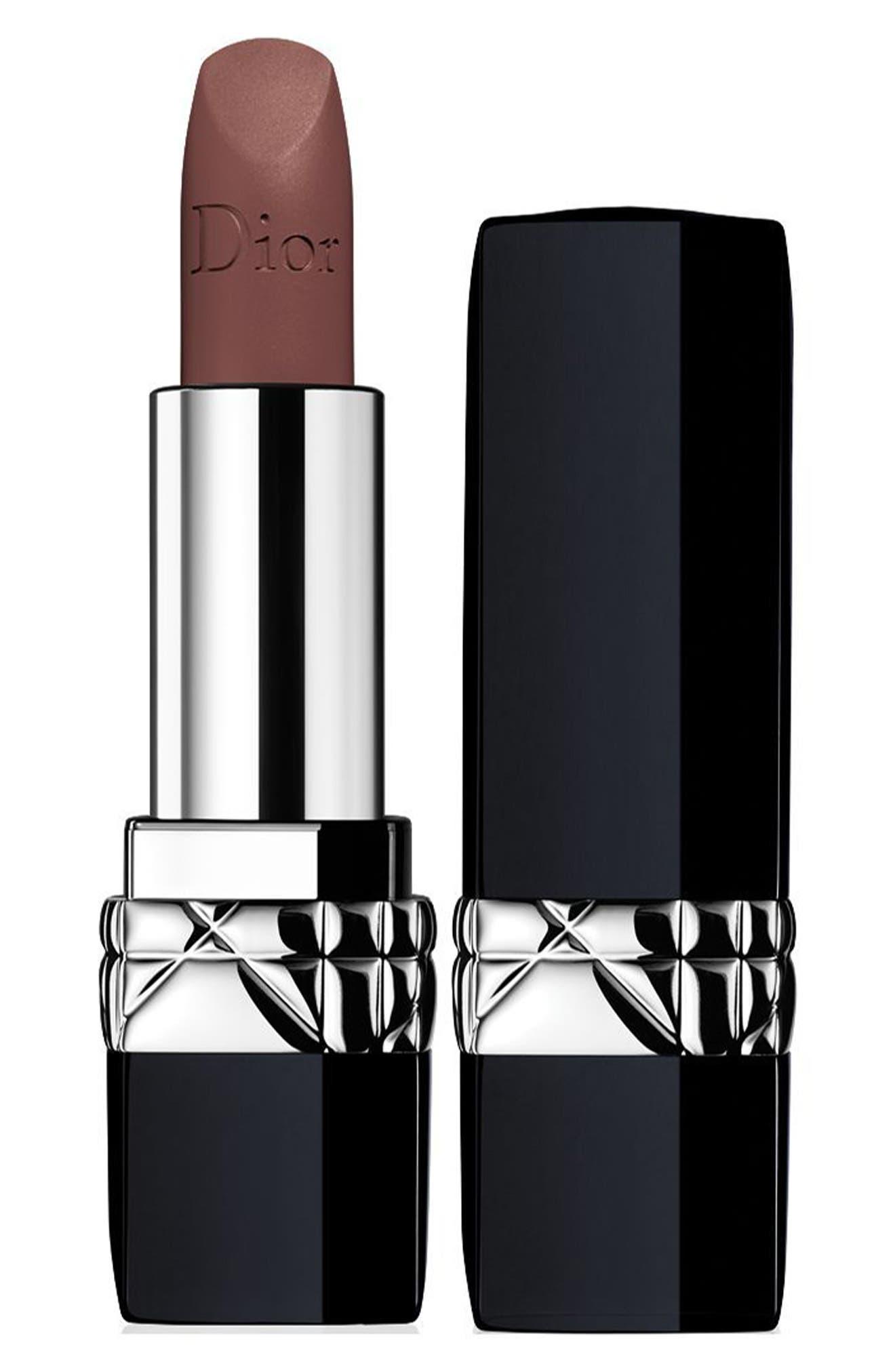 DIOR, Couture Color Rouge Dior Lipstick, Main thumbnail 1, color, 810 DISTINCT MATTE