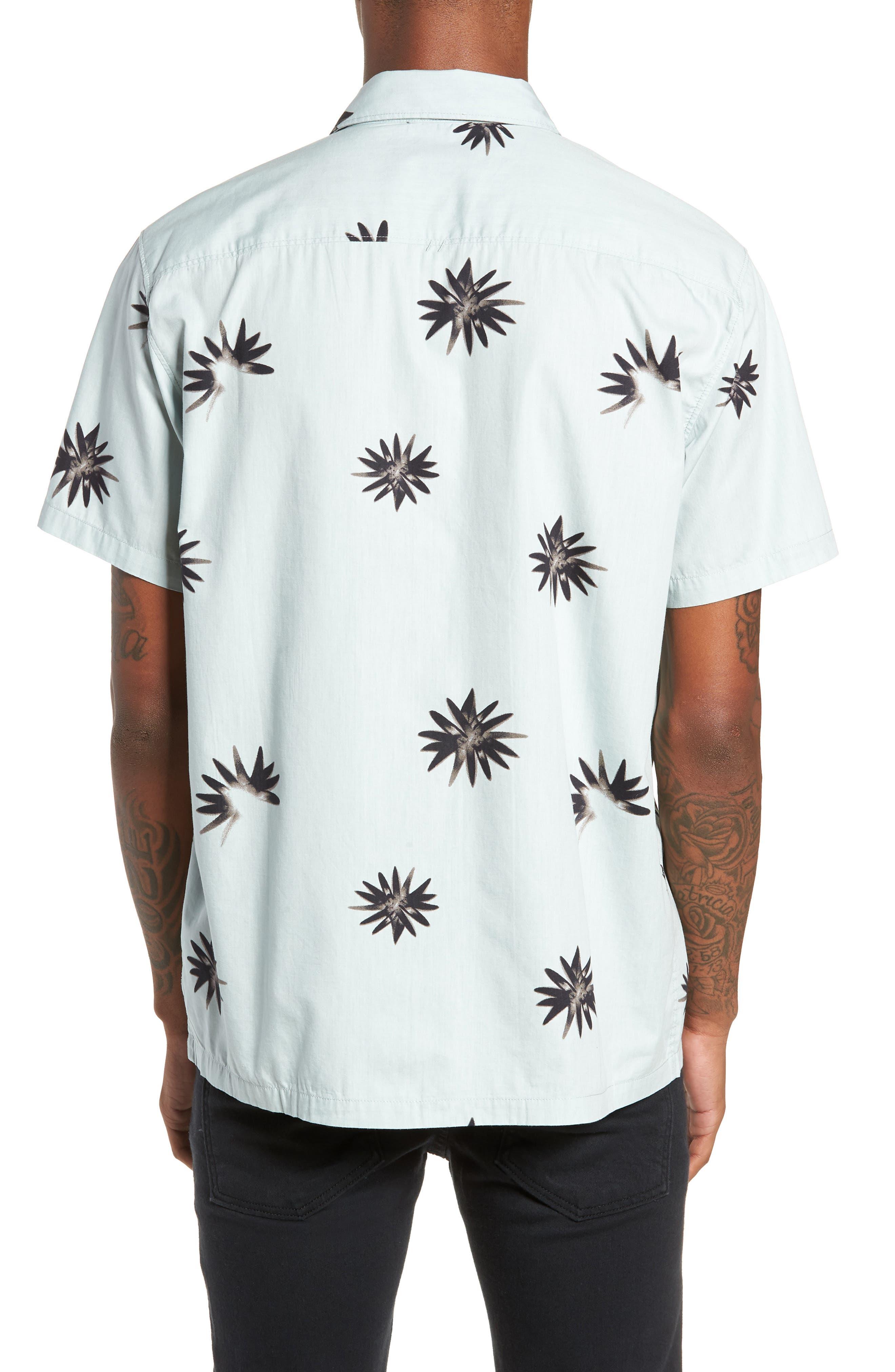 TAVIK, Villa Floral Woven Shirt, Alternate thumbnail 2, color, 083