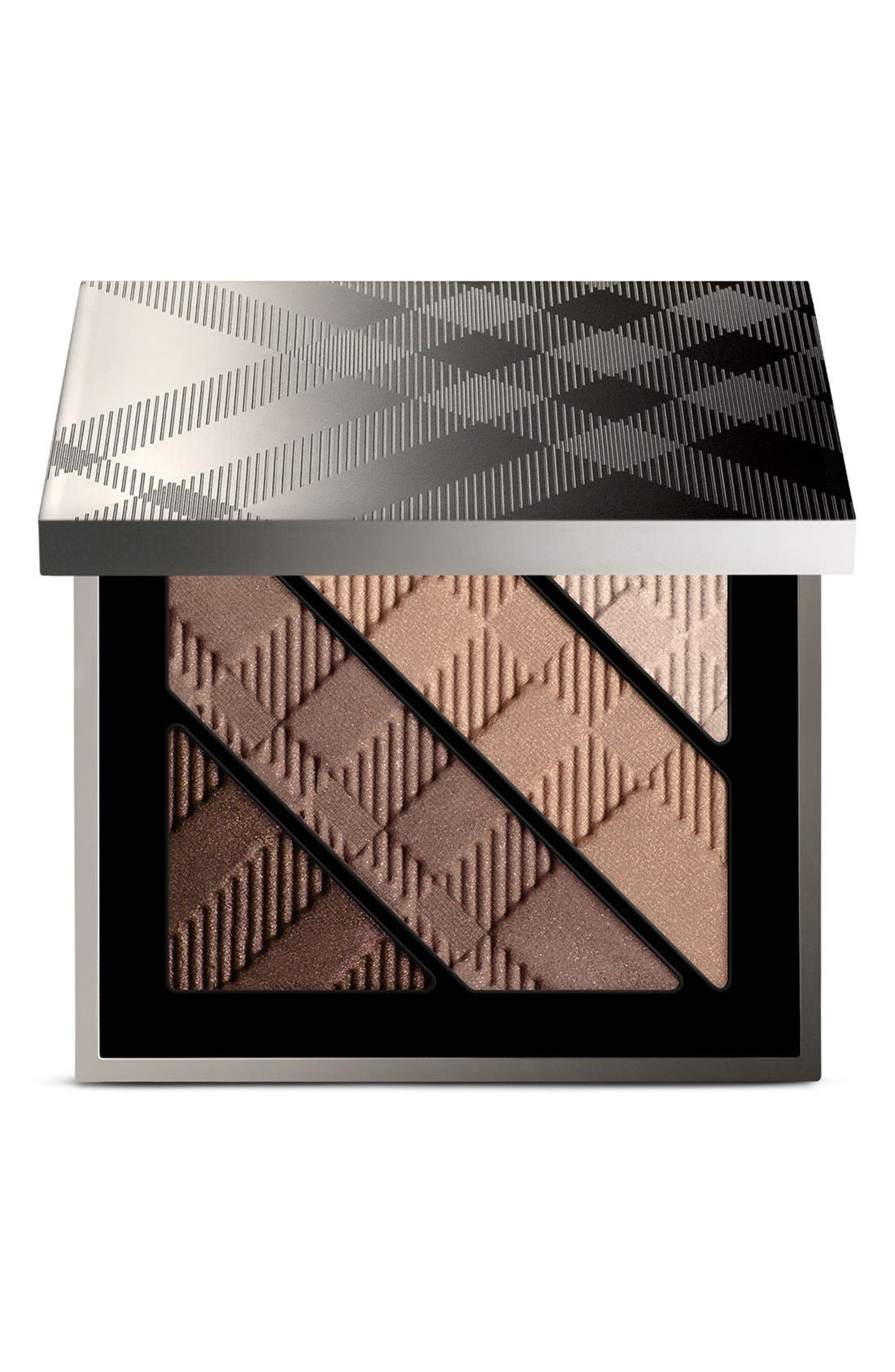 BURBERRY BEAUTY, Complete Eye Palette, Main thumbnail 1, color, NO. 00 SMOKEY BROWN